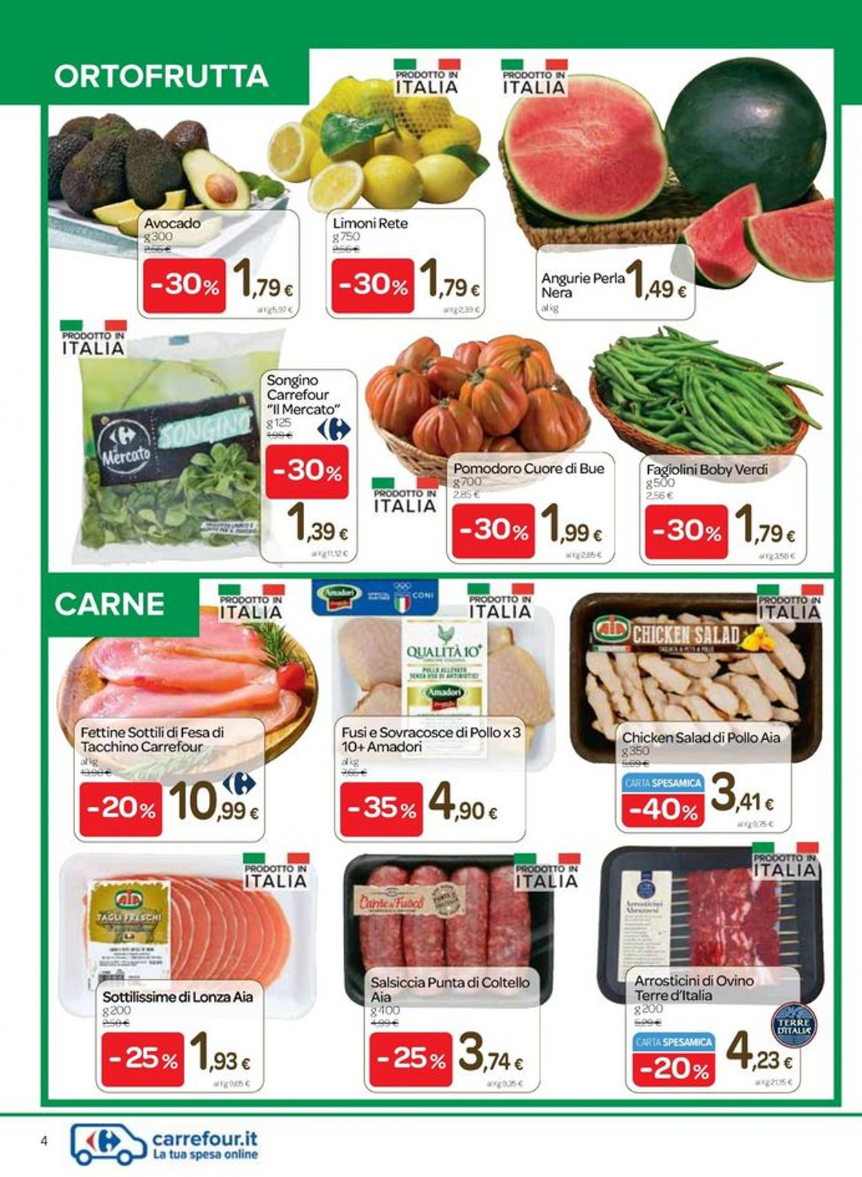 Volantino Carrefour - Offerte 03/06-15/06/2021 (Pagina 4)