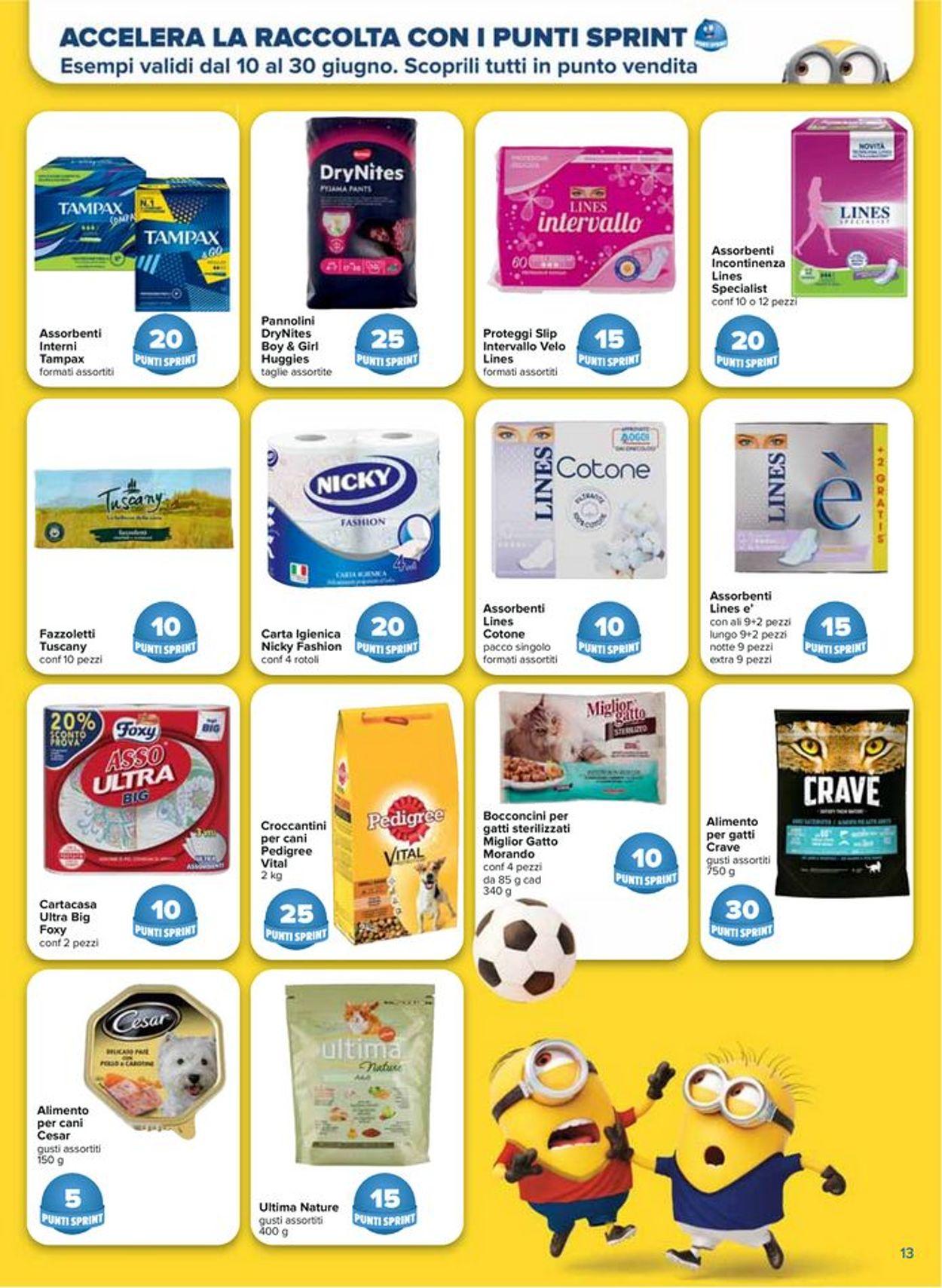 Volantino Carrefour - Offerte 10/06-30/06/2021 (Pagina 13)