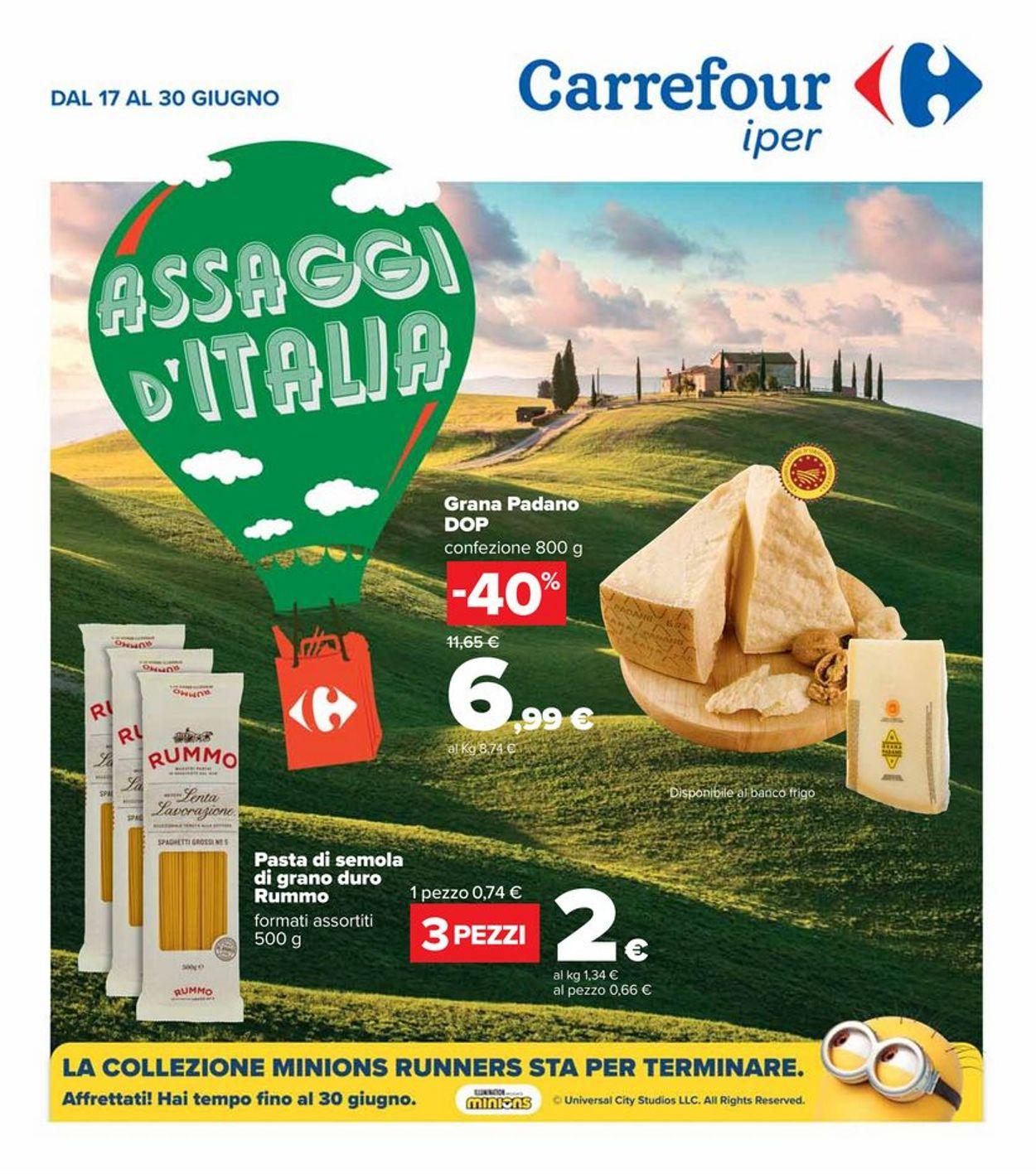 Volantino Carrefour - Offerte 17/06-30/06/2021