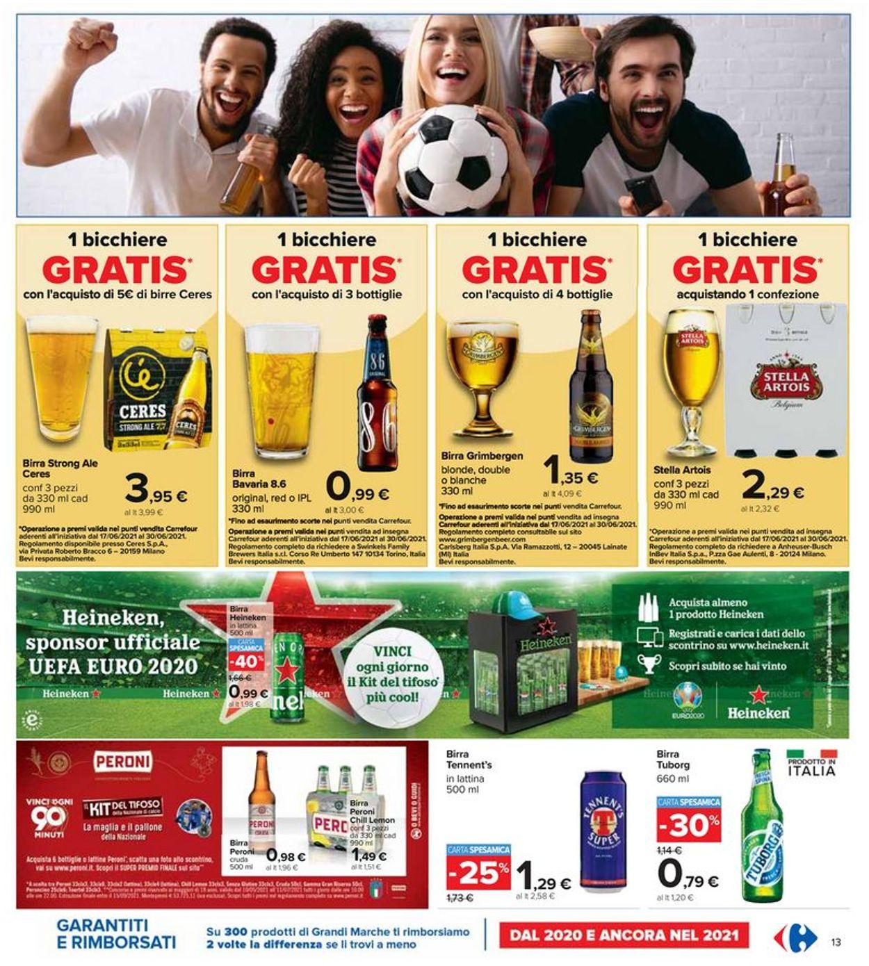 Volantino Carrefour - Offerte 17/06-30/06/2021 (Pagina 13)