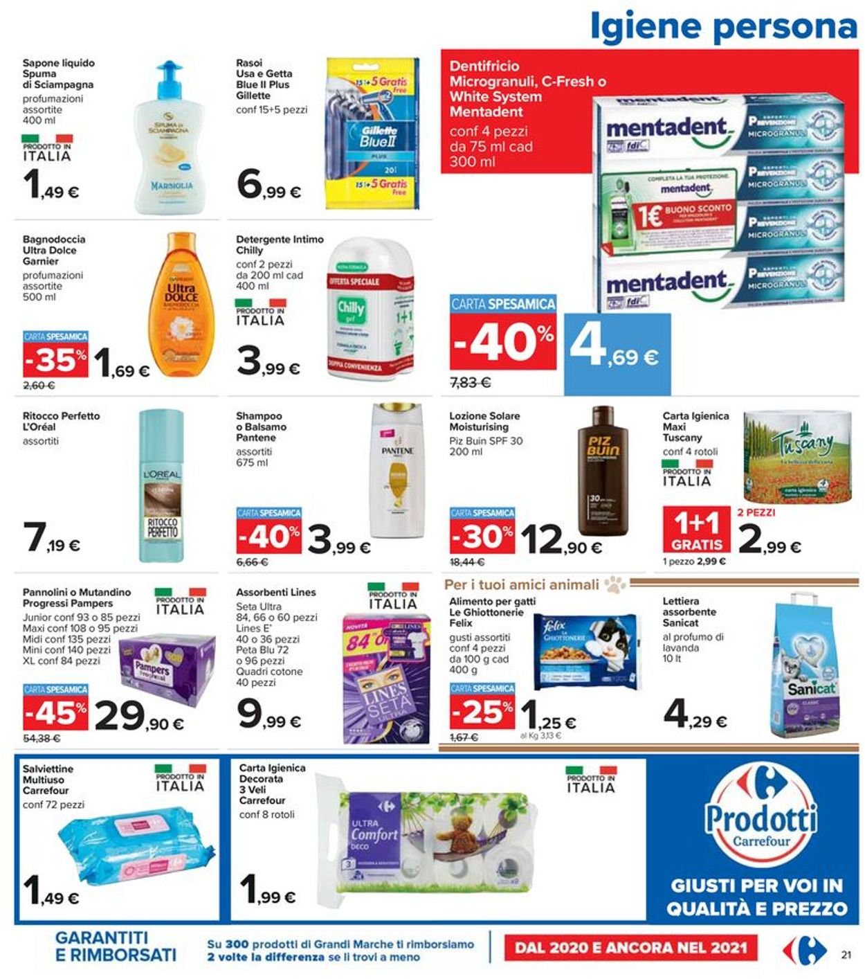Volantino Carrefour - Offerte 17/06-30/06/2021 (Pagina 21)