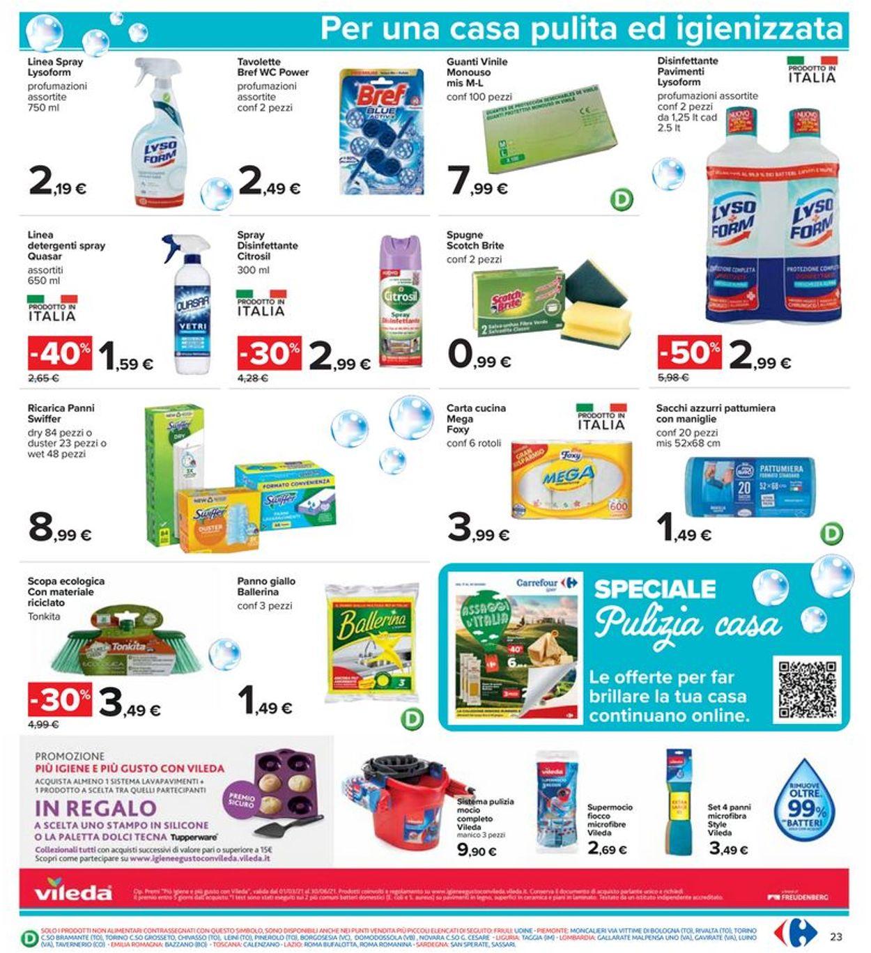 Volantino Carrefour - Offerte 17/06-30/06/2021 (Pagina 23)