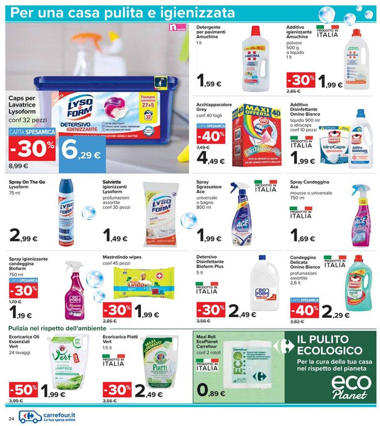 Volantino Carrefour - Offerte 17/06-30/06/2021 (Pagina 24)
