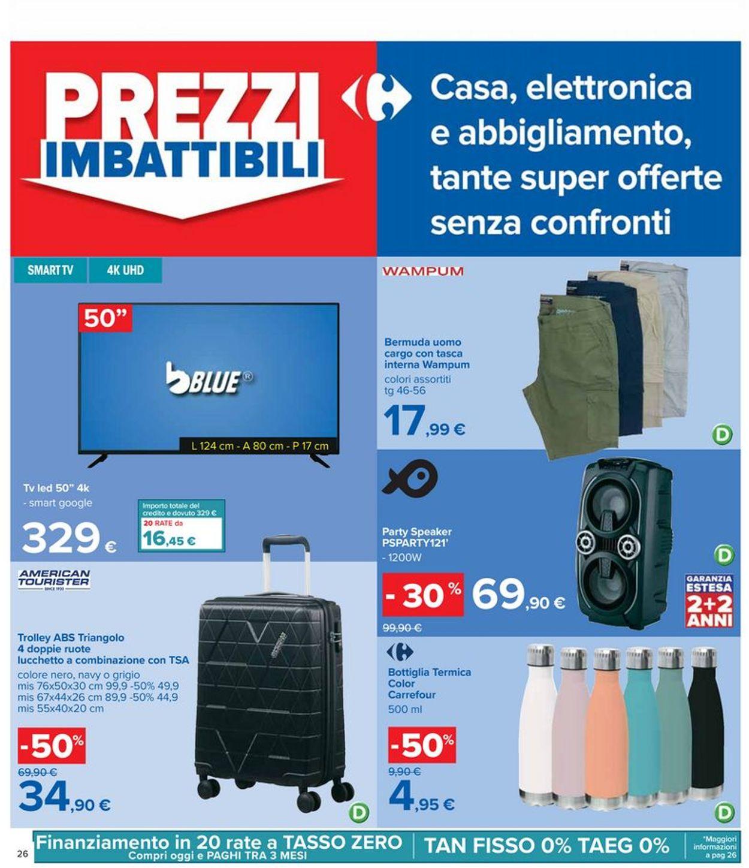 Volantino Carrefour - Offerte 17/06-30/06/2021 (Pagina 26)