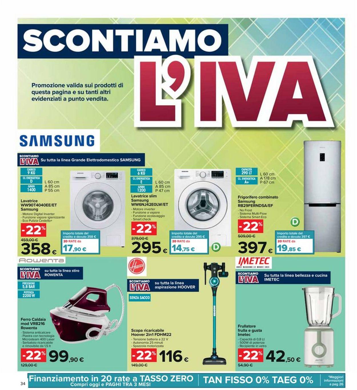 Volantino Carrefour - Offerte 17/06-30/06/2021 (Pagina 34)