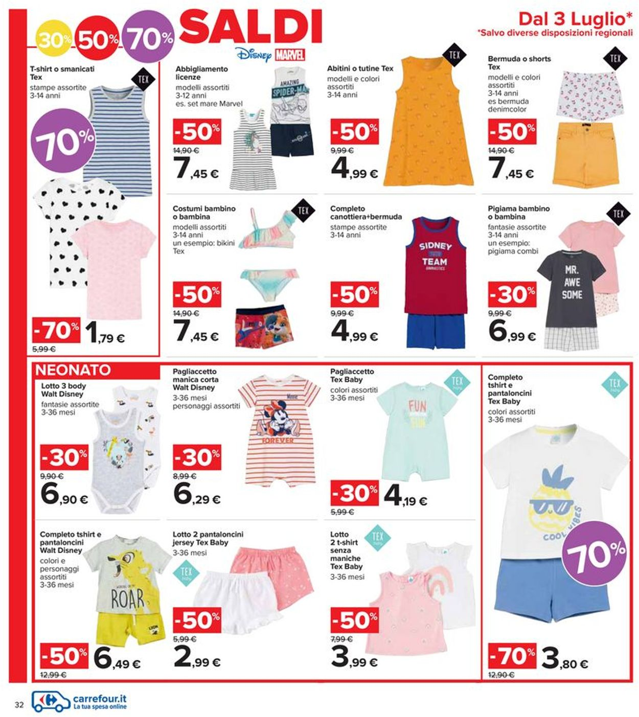 Volantino Carrefour - Offerte 01/07-14/07/2021 (Pagina 32)