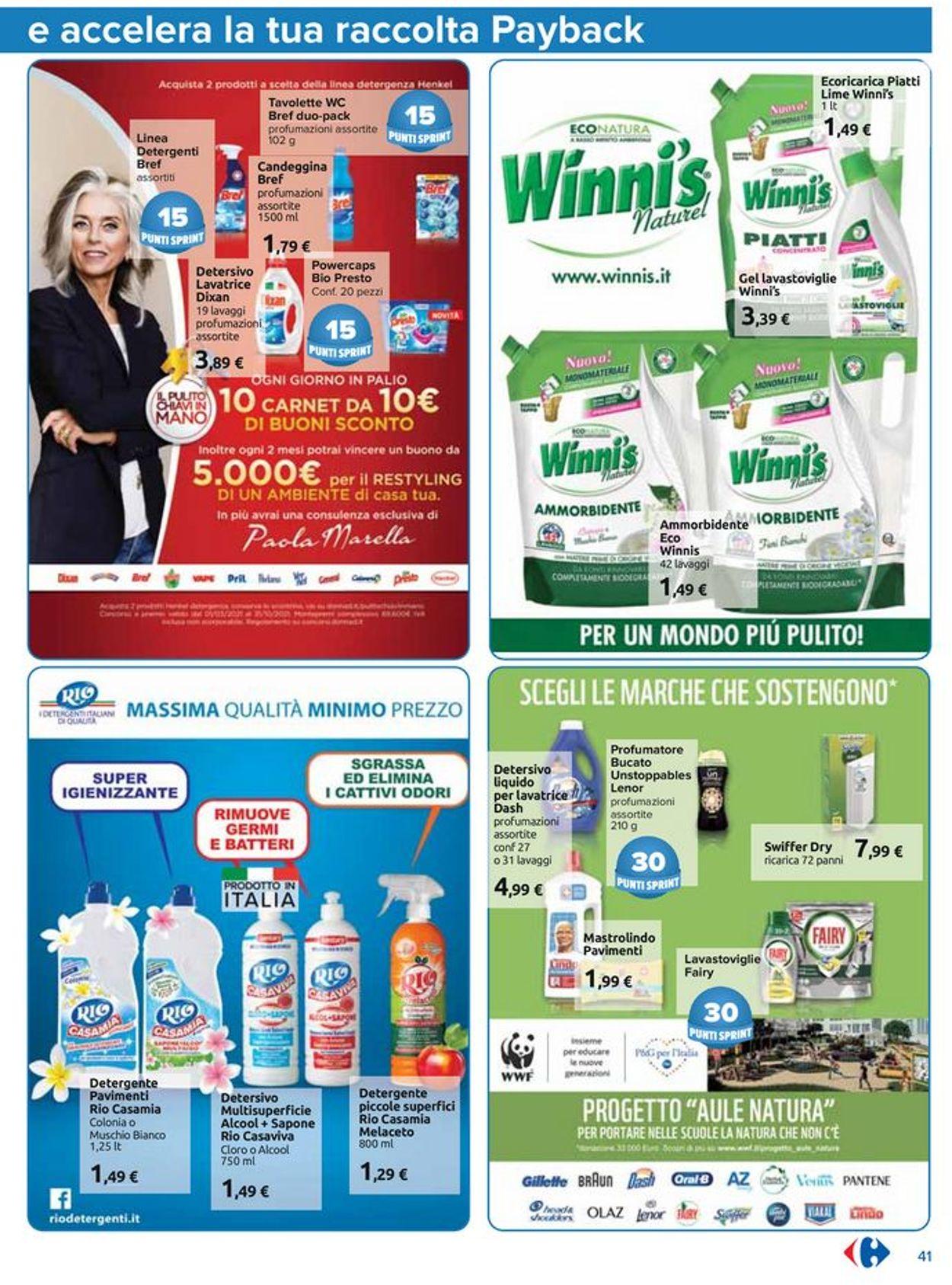 Volantino Carrefour - Offerte 01/07-25/07/2021 (Pagina 41)