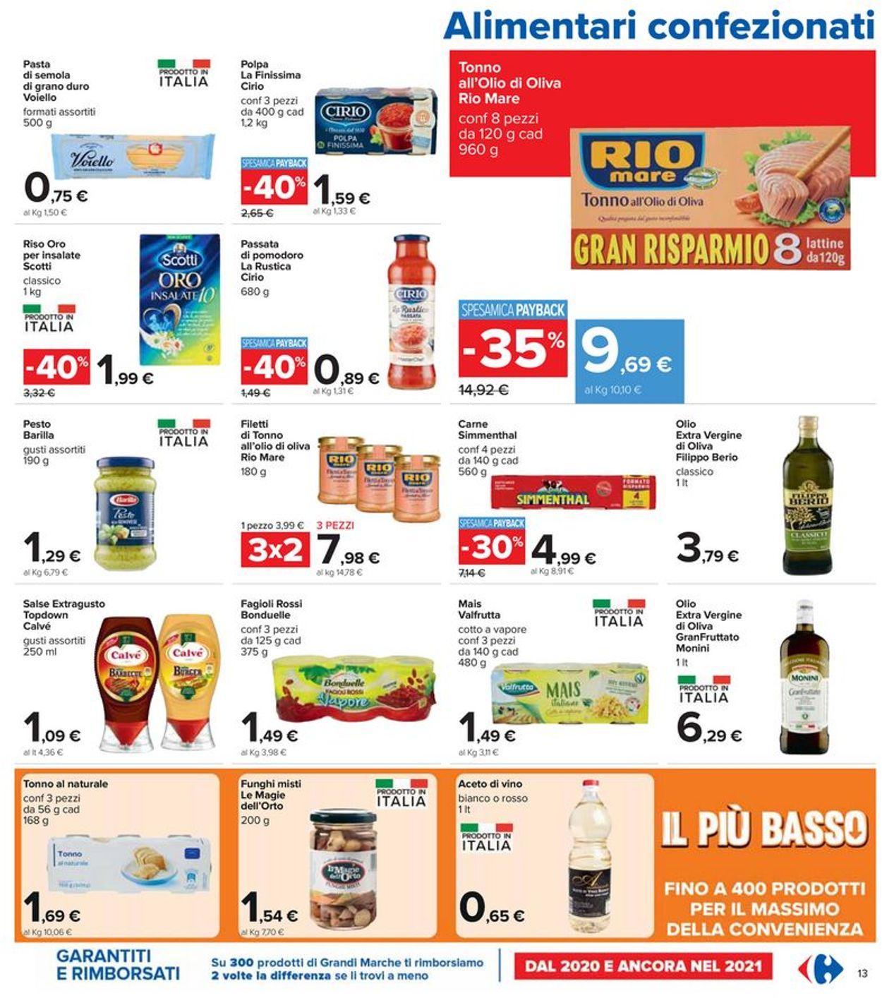 Volantino Carrefour - Offerte 15/07-28/07/2021 (Pagina 13)
