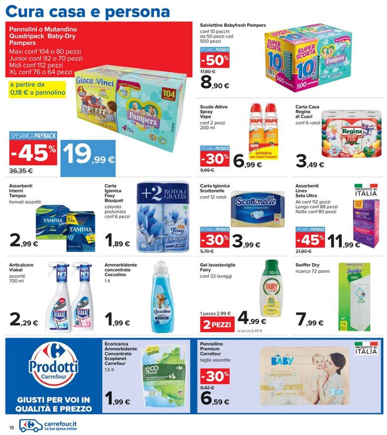 Volantino Carrefour - Offerte 15/07-28/07/2021 (Pagina 18)