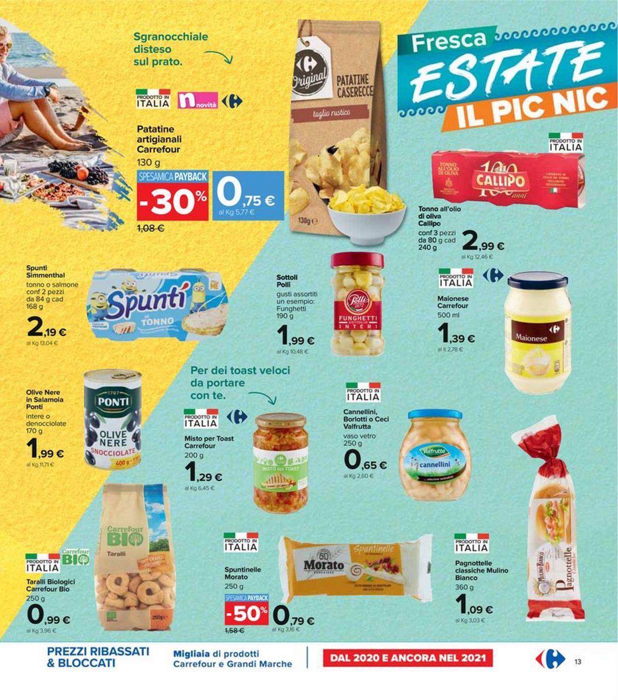 Volantino Carrefour - Offerte 29/07-11/08/2021 (Pagina 13)