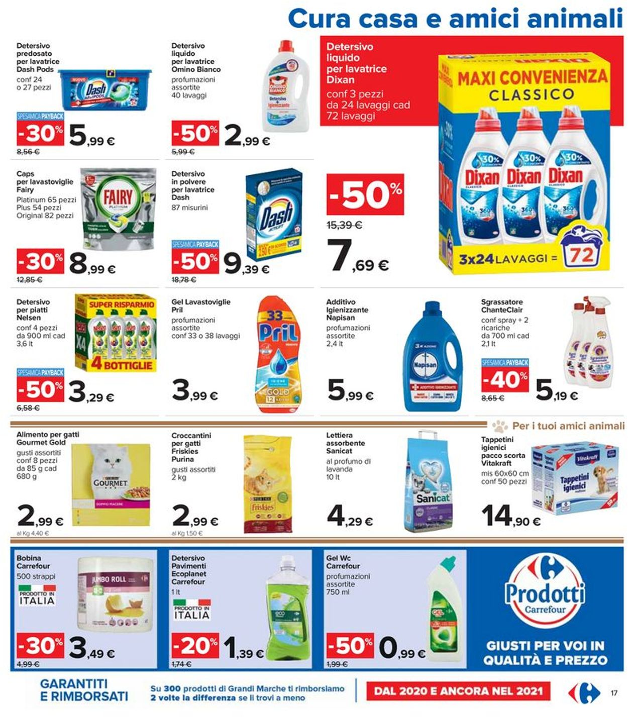 Volantino Carrefour - Offerte 29/07-11/08/2021 (Pagina 17)