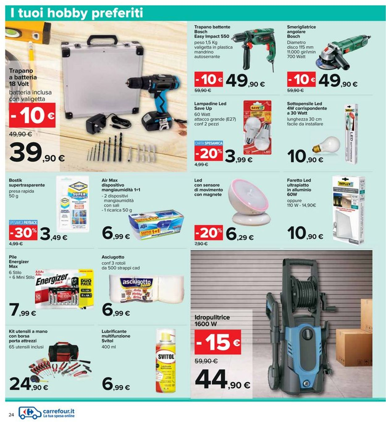 Volantino Carrefour - Offerte 29/07-11/08/2021 (Pagina 24)