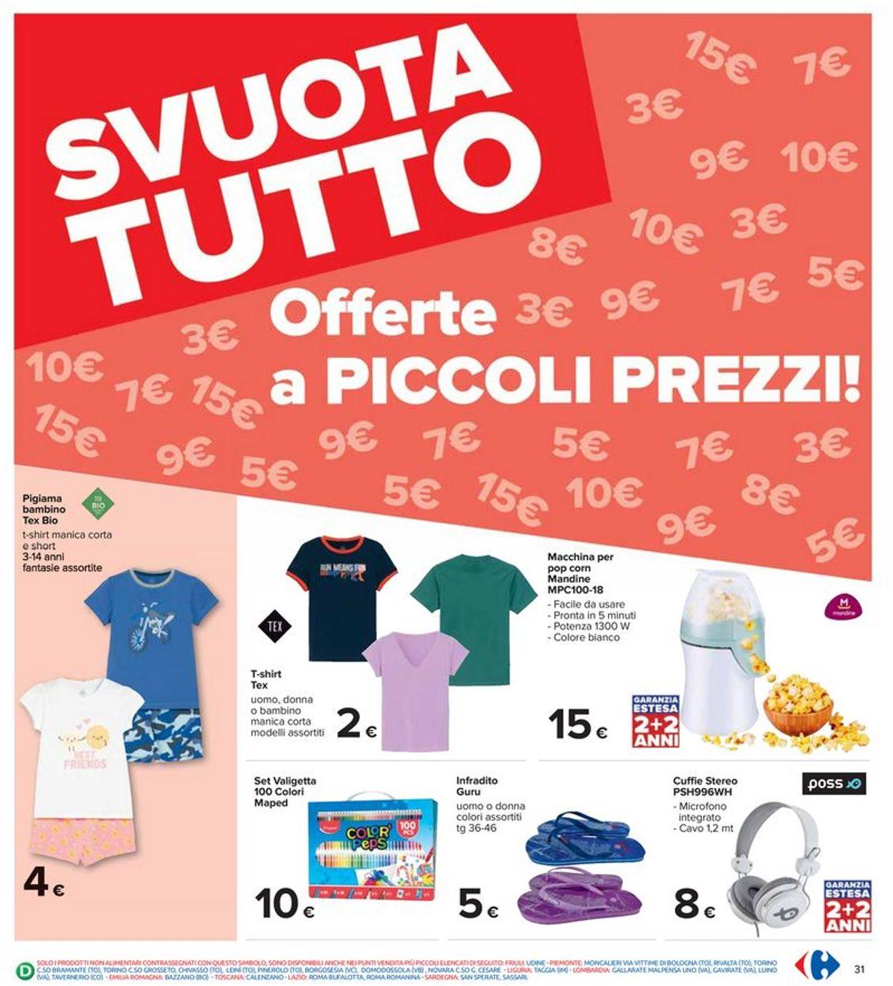 Volantino Carrefour - Offerte 29/07-11/08/2021 (Pagina 31)