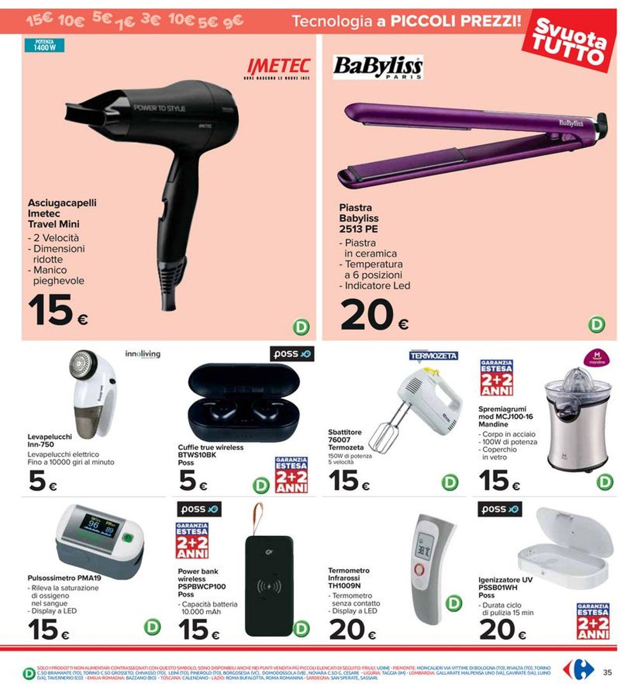 Volantino Carrefour - Offerte 29/07-11/08/2021 (Pagina 35)