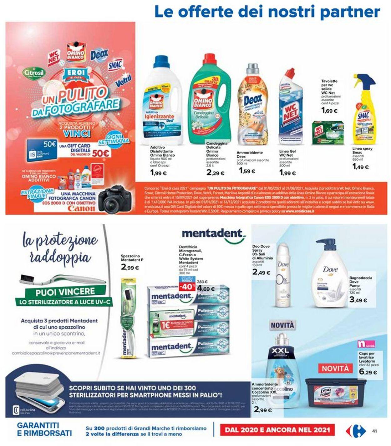 Volantino Carrefour - Offerte 29/07-11/08/2021 (Pagina 41)