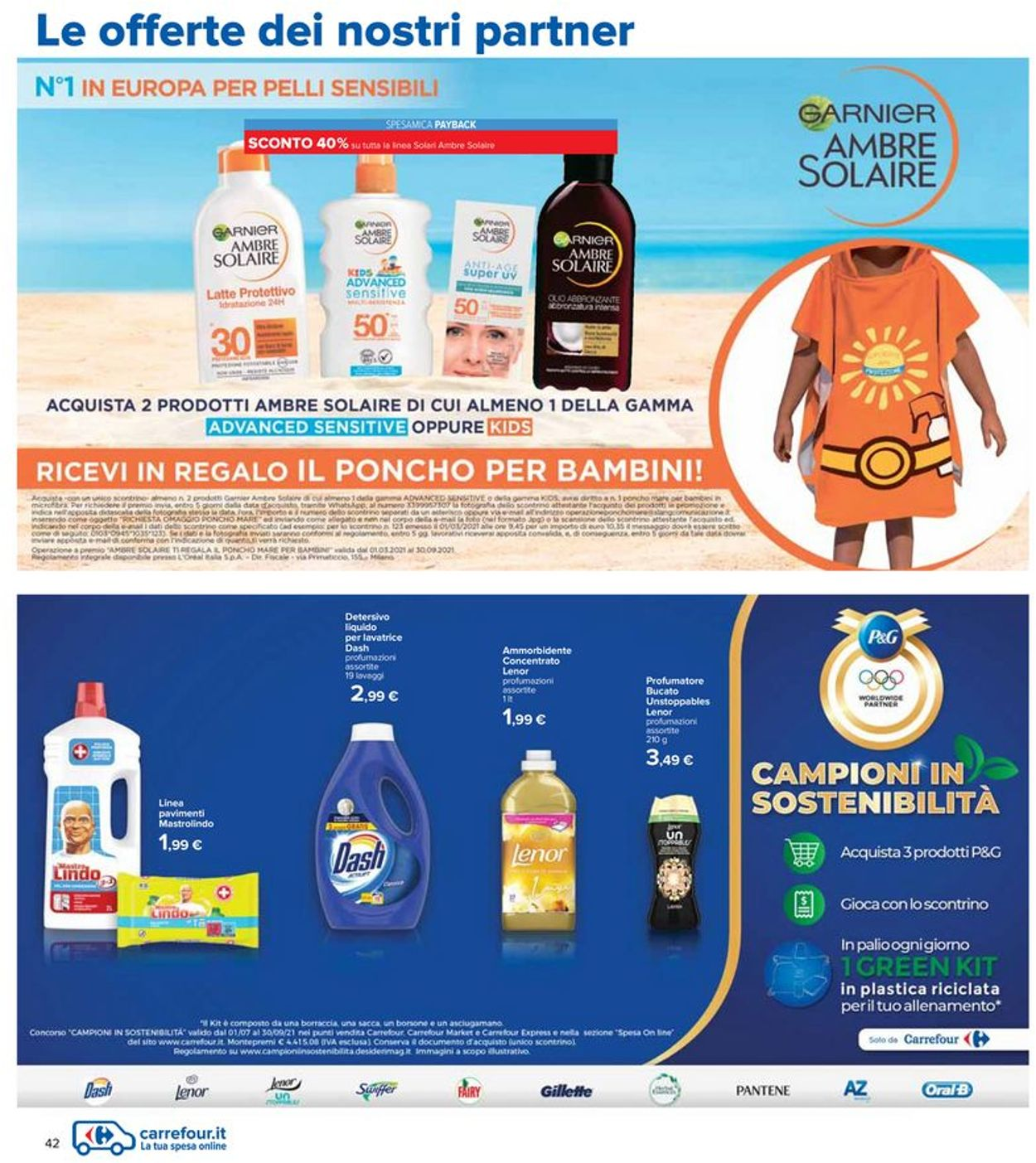 Volantino Carrefour - Offerte 29/07-11/08/2021 (Pagina 42)