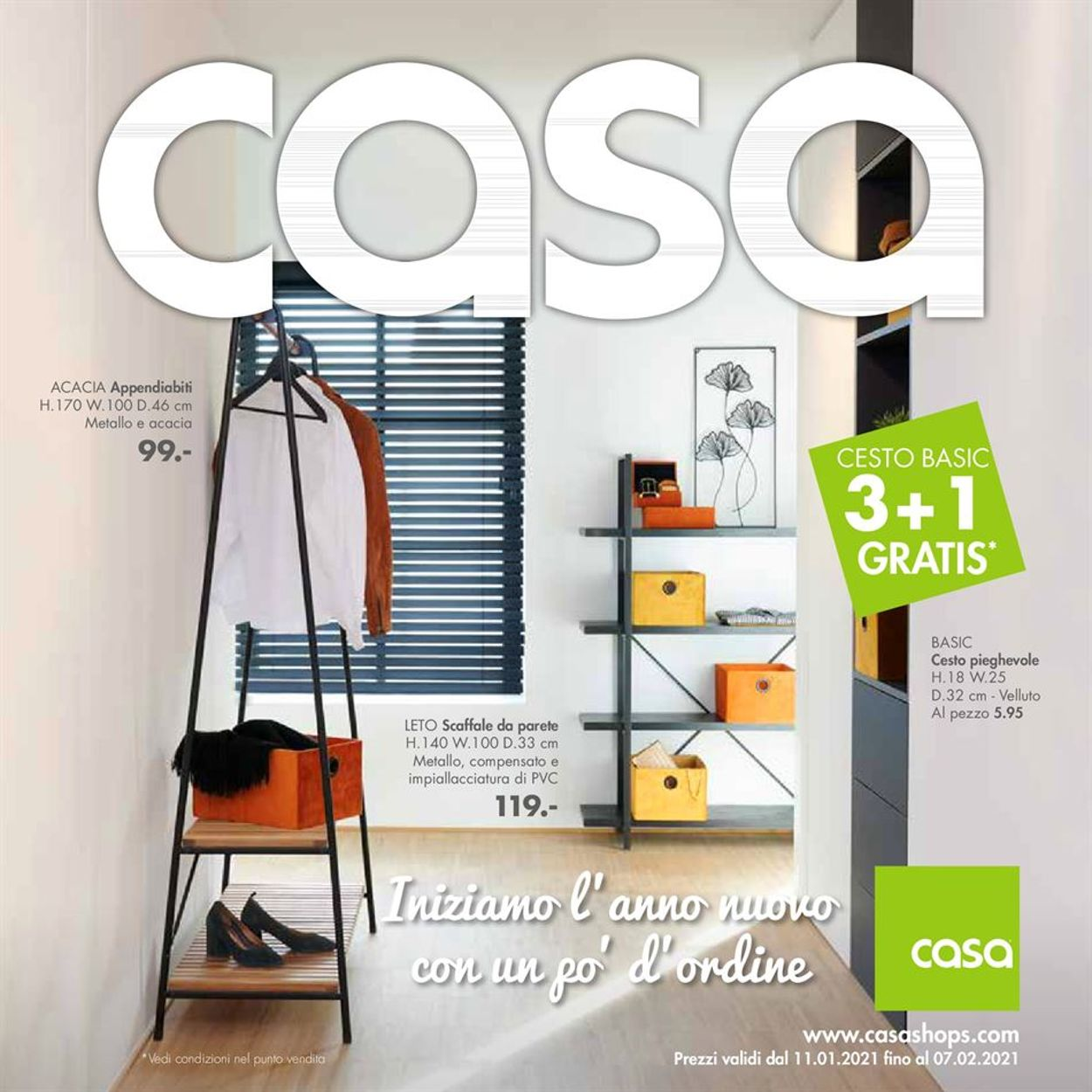 Volantino Casa - Offerte 11/01-07/02/2021