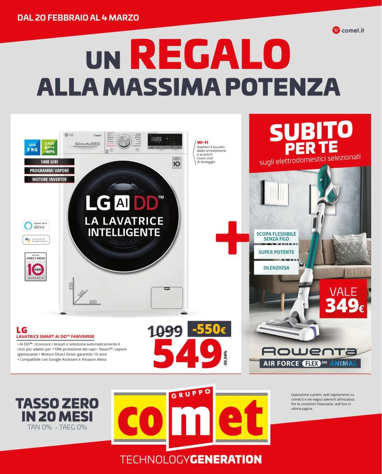Volantino Comet - Offerte 20/02-04/03/2020