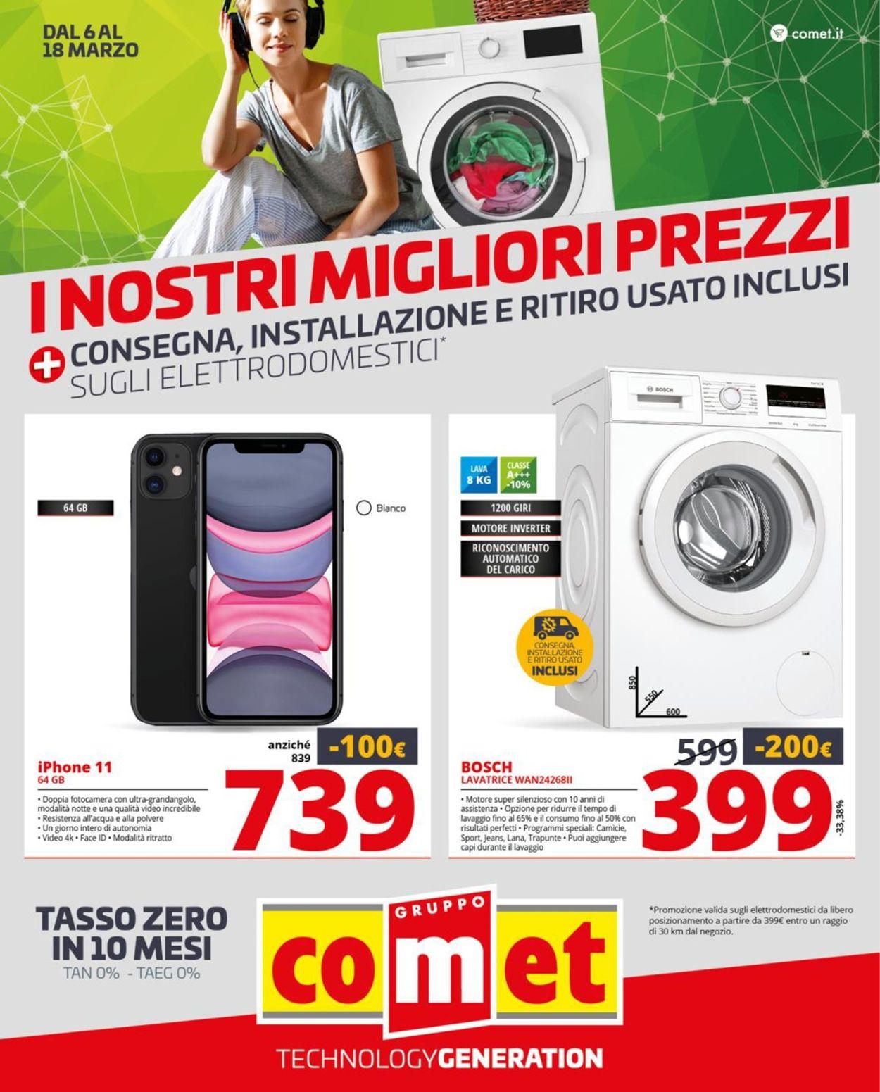 Volantino Comet - Offerte 06/03-18/03/2020