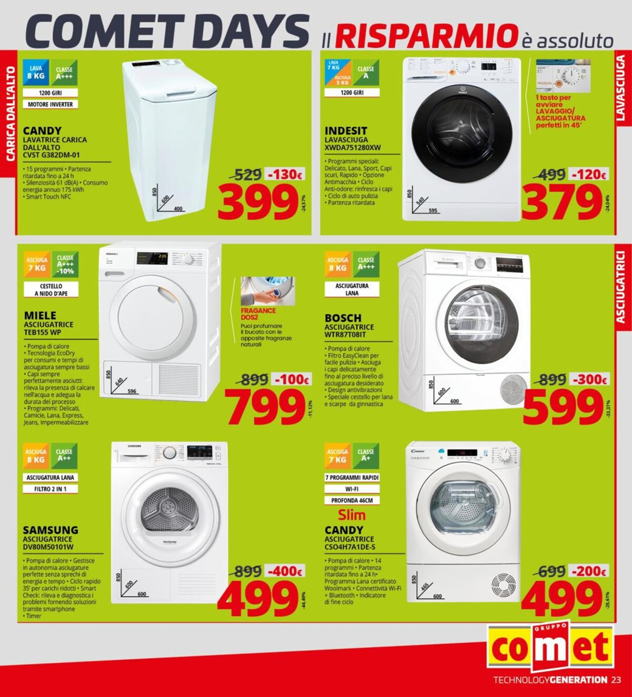Volantino Comet - Offerte 01/10-14/10/2020 (Pagina 23)