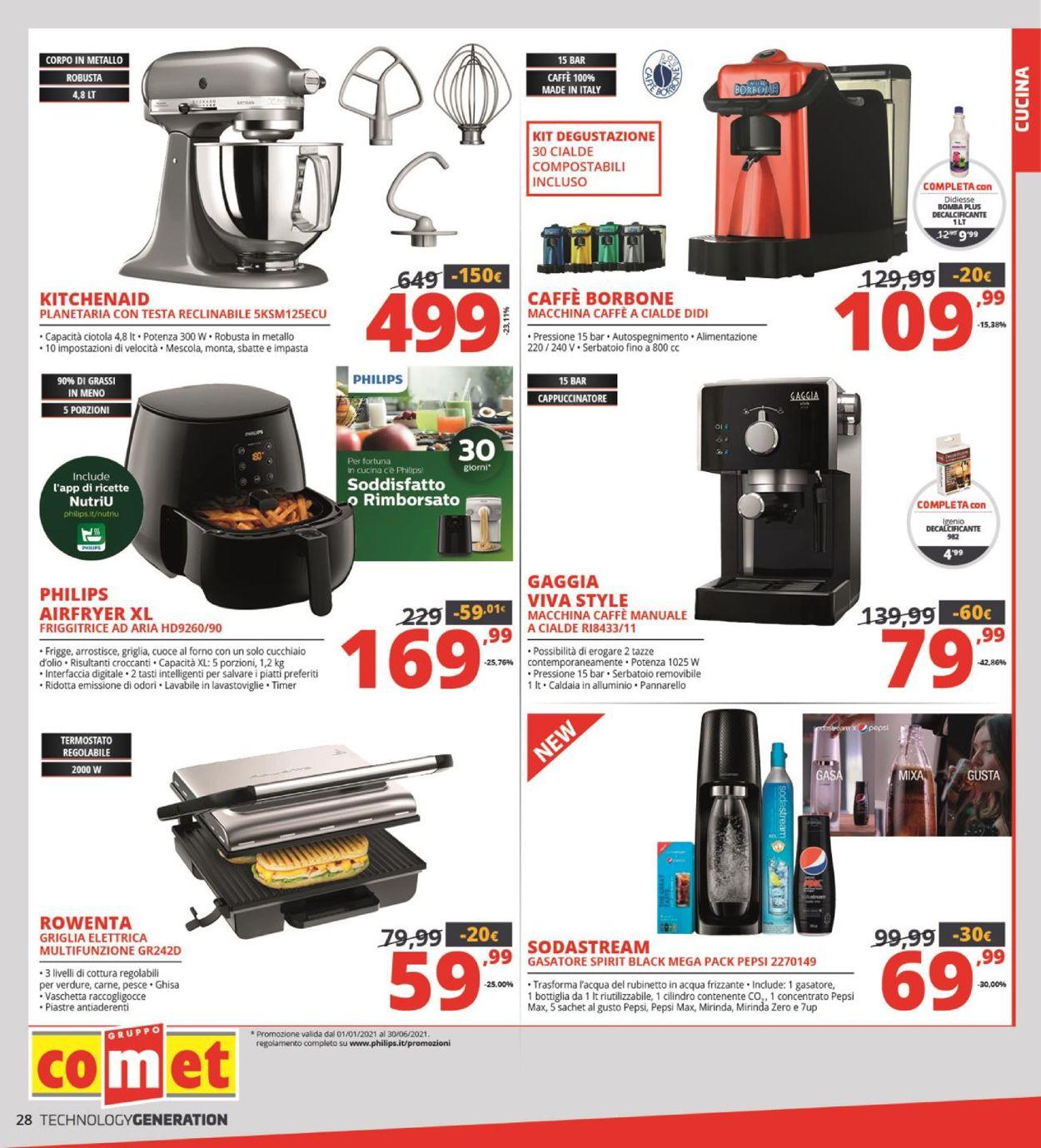 Volantino Comet - Offerte 17/06-30/06/2021 (Pagina 28)