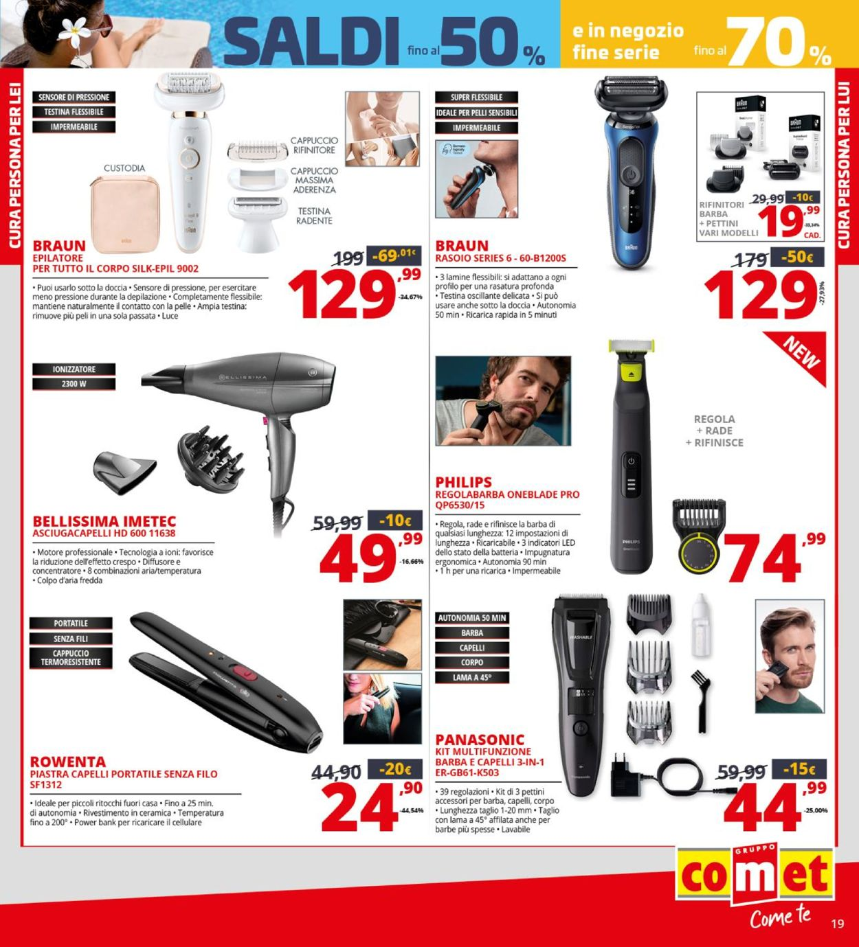 Volantino Comet - Offerte 29/07-15/08/2021 (Pagina 19)