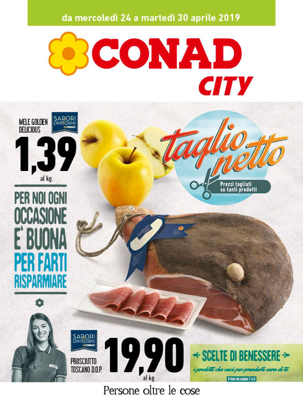 Volantino Conad - Offerte 24/04-30/04/2019