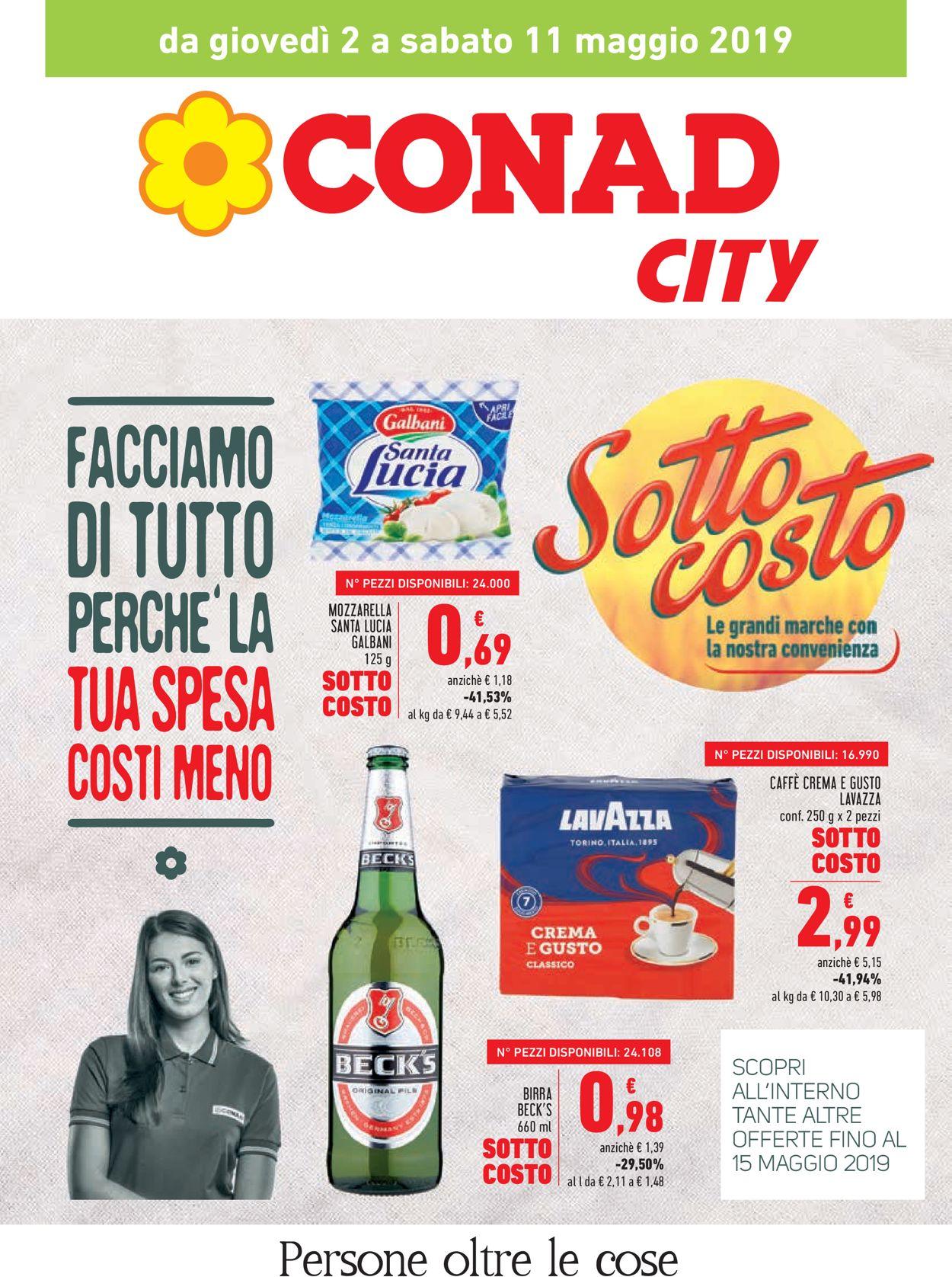 Volantino Conad - Offerte 02/05-15/05/2019