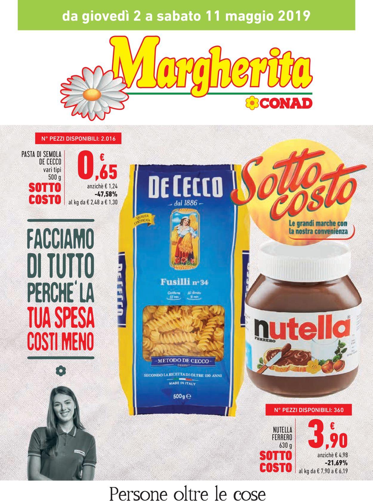 Volantino Conad - Offerte 02/05-11/05/2019