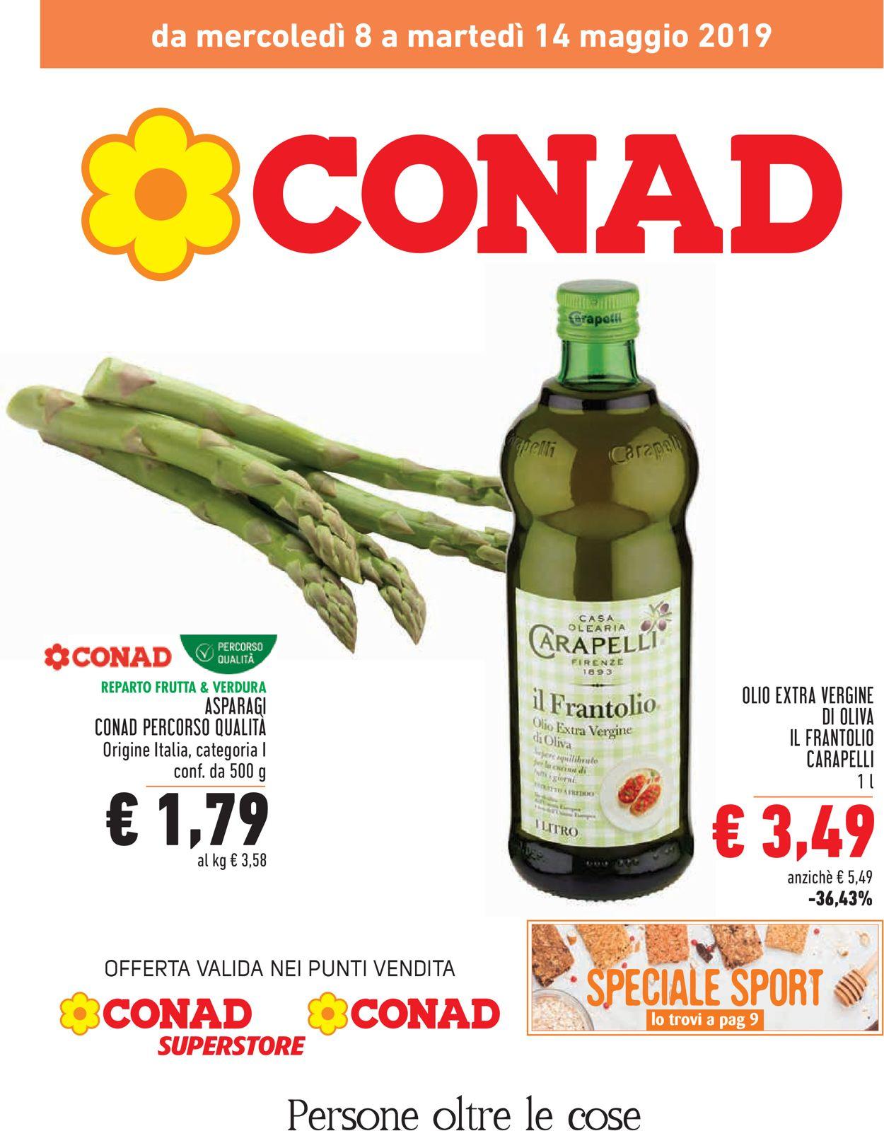 Volantino Conad - Offerte 08/05-14/05/2019
