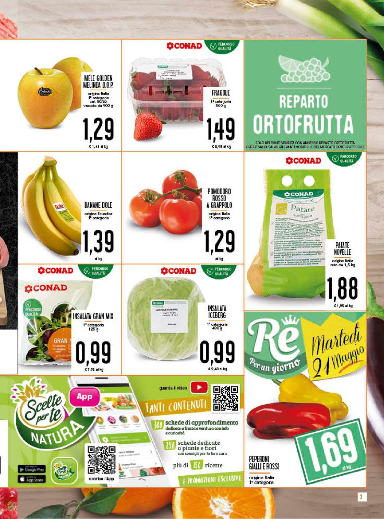 Volantino Conad - Offerte 15/05-26/05/2019 (Pagina 3)