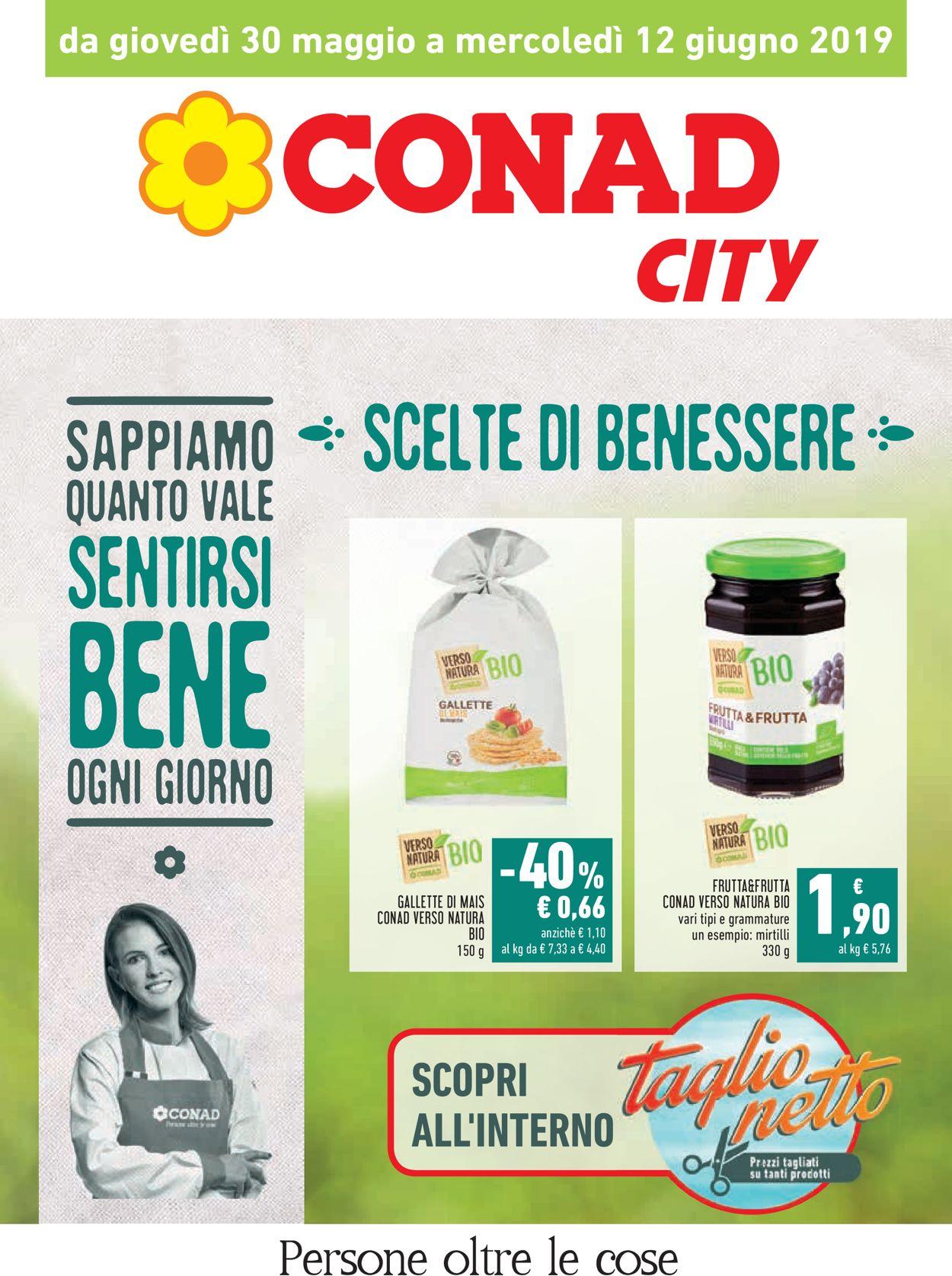 Volantino Conad - Offerte 30/05-12/06/2019