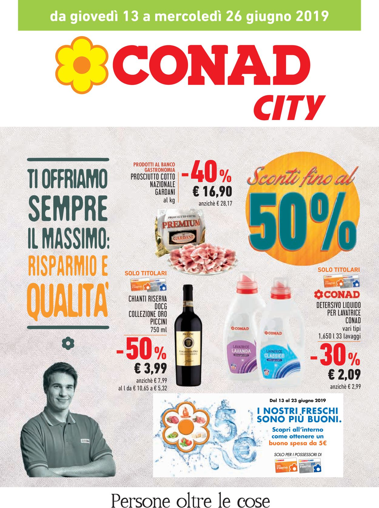 Volantino Conad - Offerte 13/06-26/06/2019