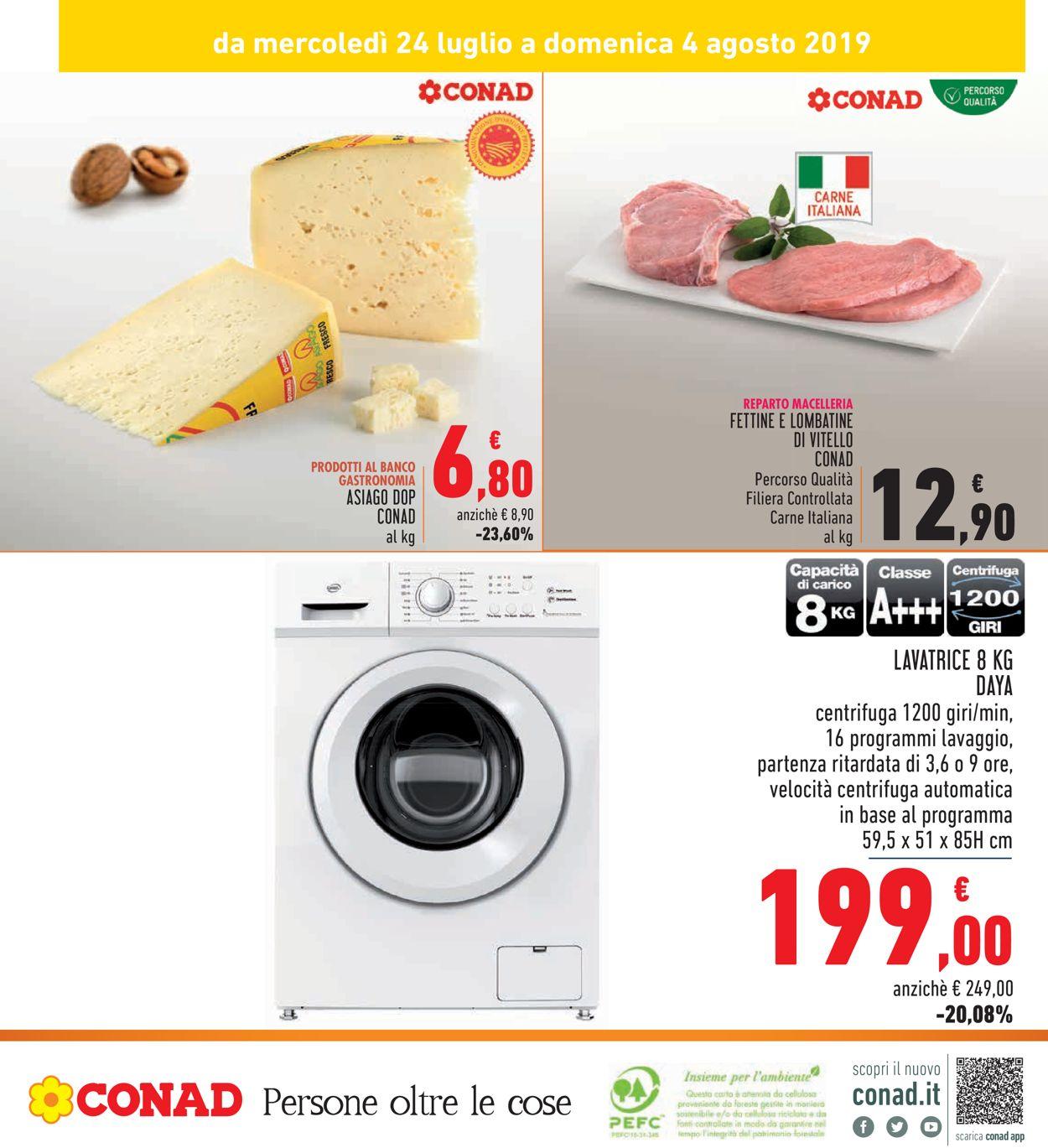 Volantino Conad - Offerte 24/07-04/08/2019 (Pagina 32)