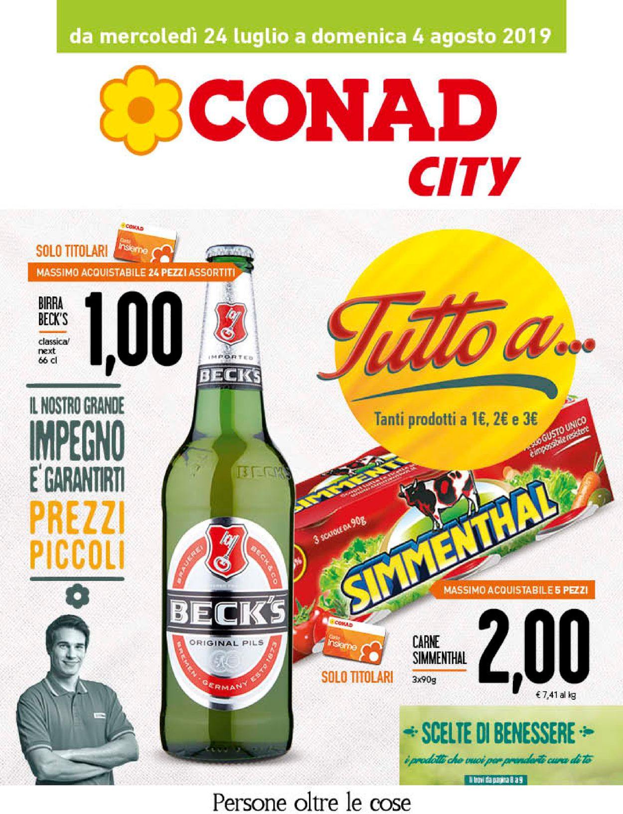 Volantino Conad - Offerte 24/07-04/08/2019