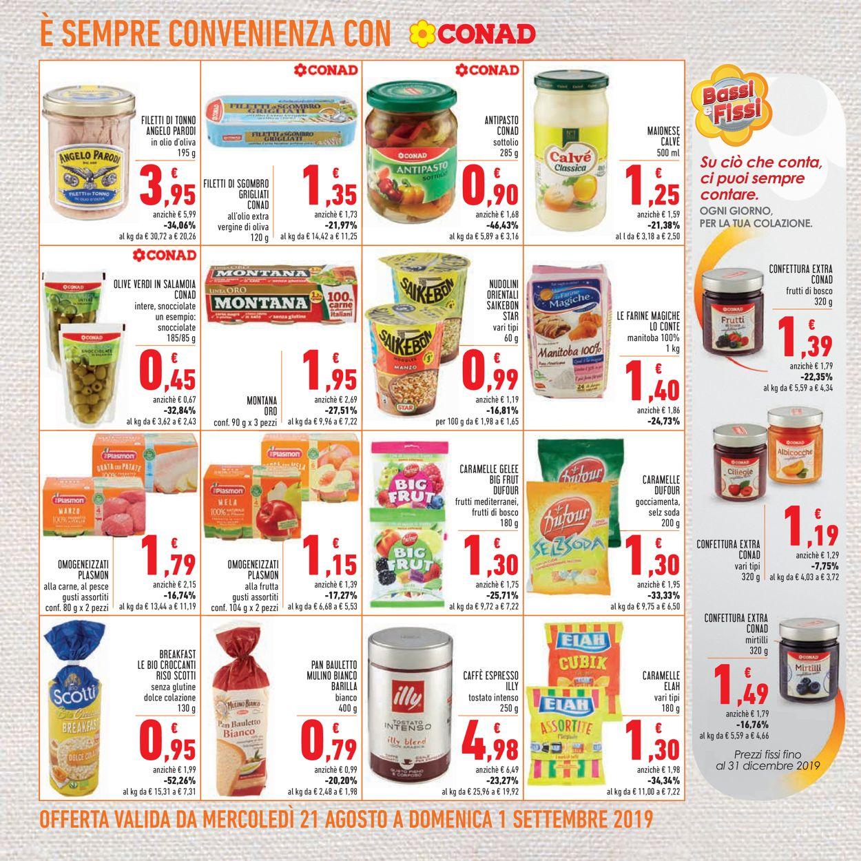 Volantino Conad - Offerte 21/08-01/09/2019 (Pagina 16)
