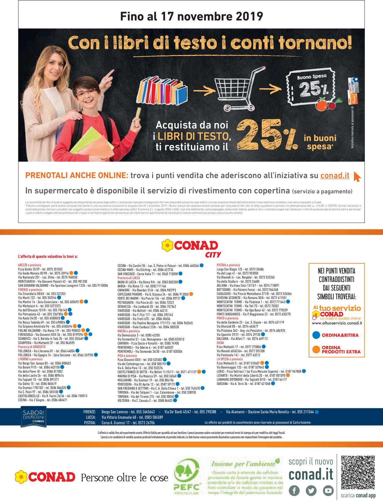 Volantino Conad - Offerte 22/08-04/09/2019 (Pagina 16)