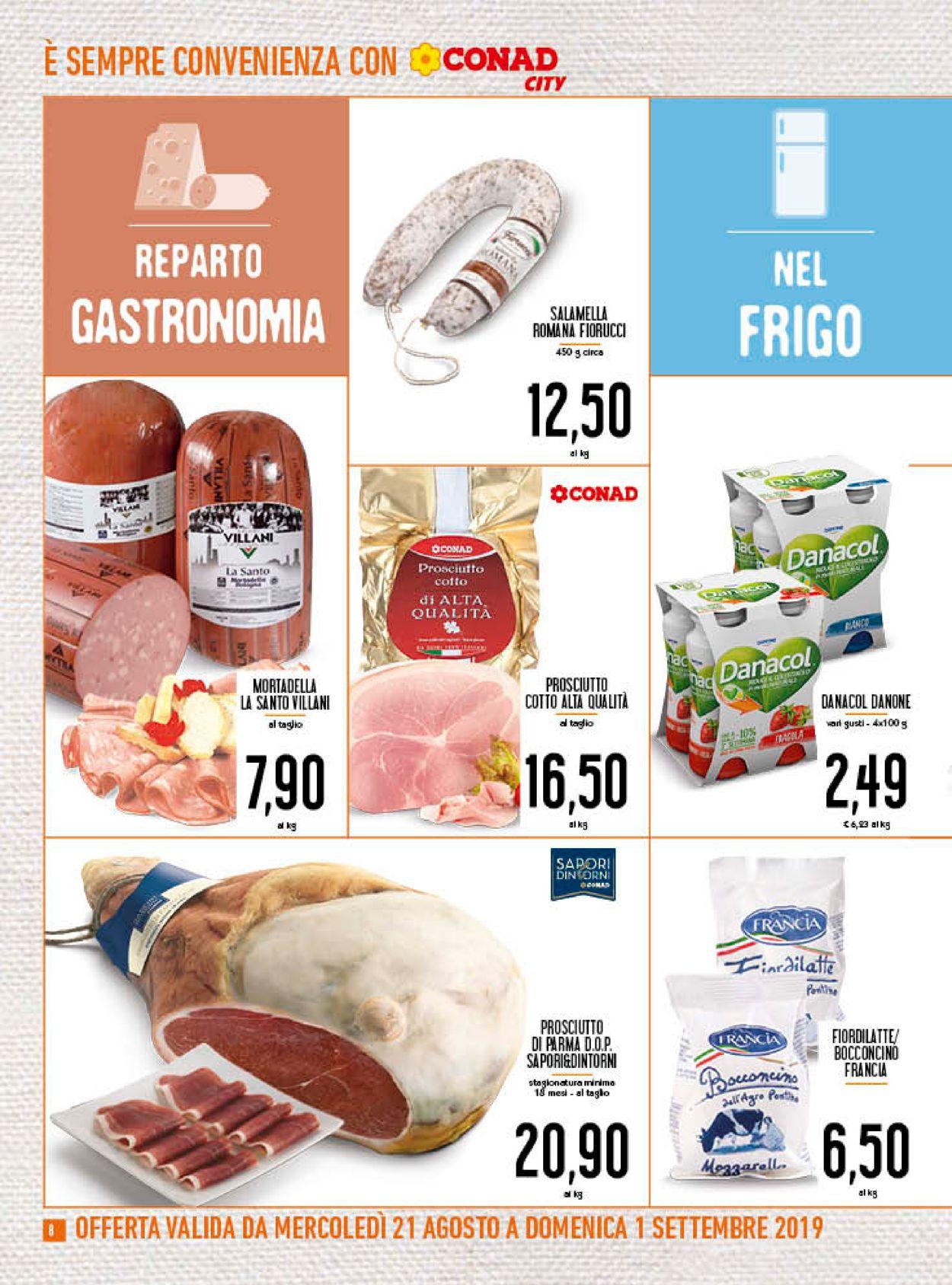 Volantino Conad - Offerte 21/08-01/09/2019 (Pagina 8)