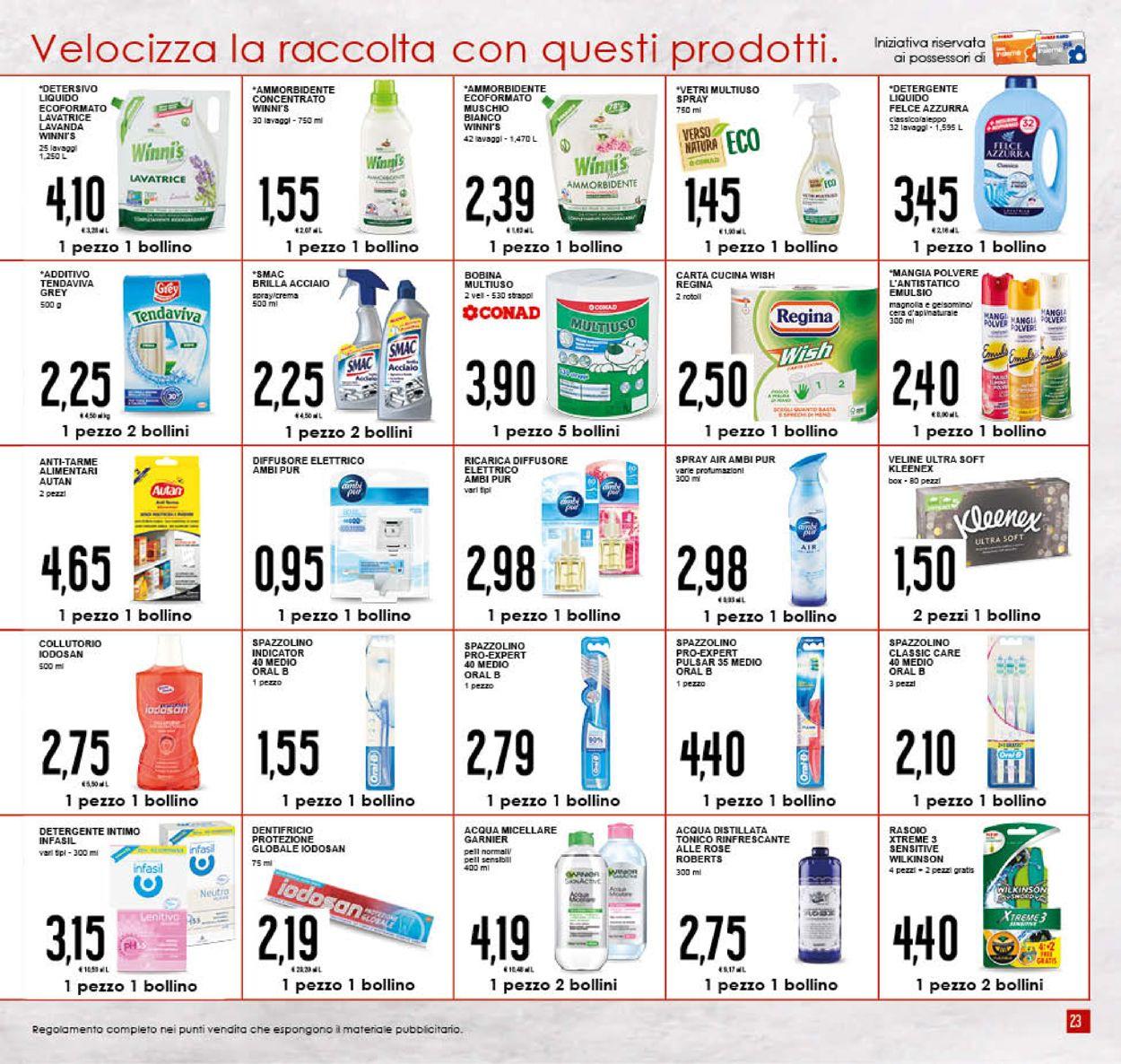 Volantino Conad - Offerte 04/09-15/09/2019 (Pagina 23)