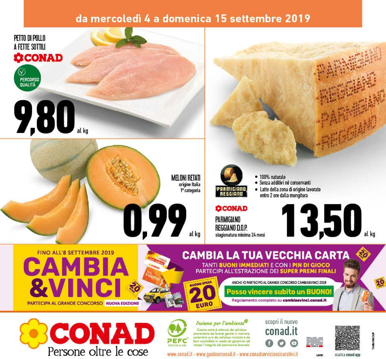 Volantino Conad - Offerte 04/09-15/09/2019 (Pagina 24)