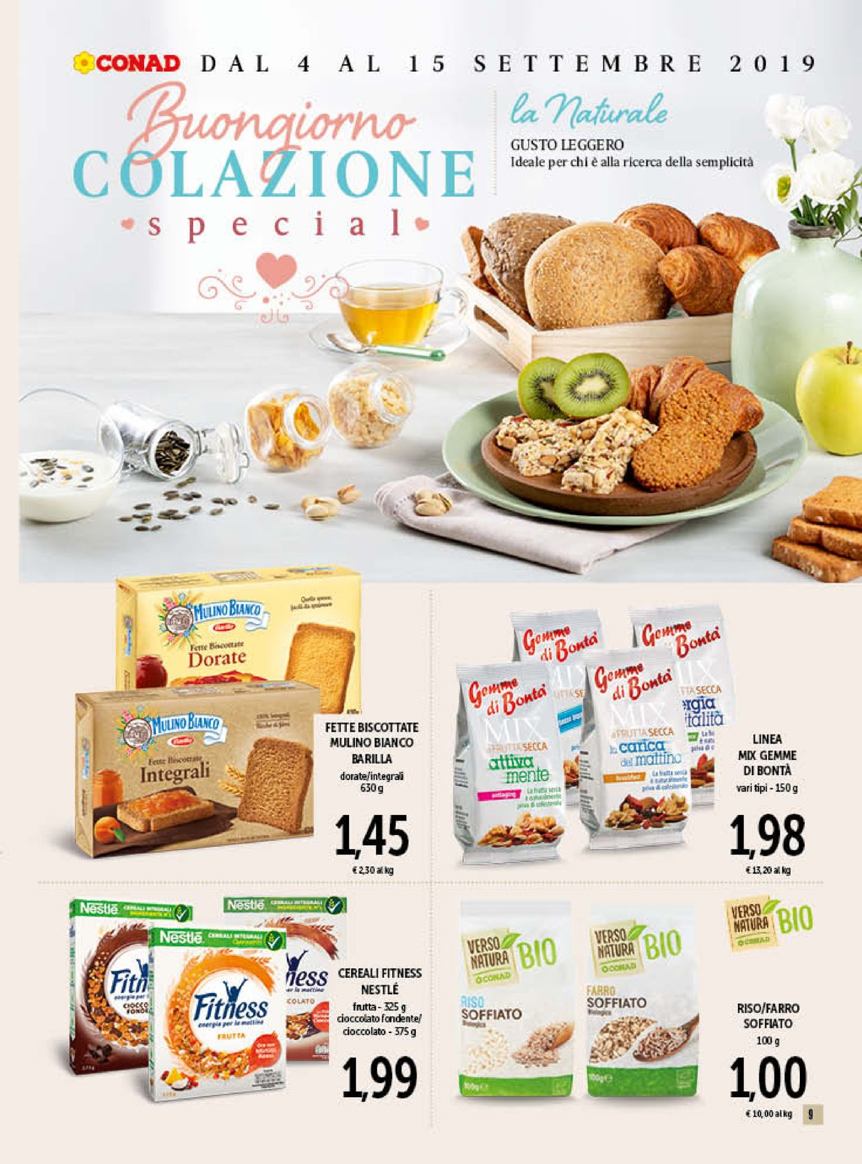 Volantino Conad - Offerte 04/09-15/09/2019 (Pagina 9)