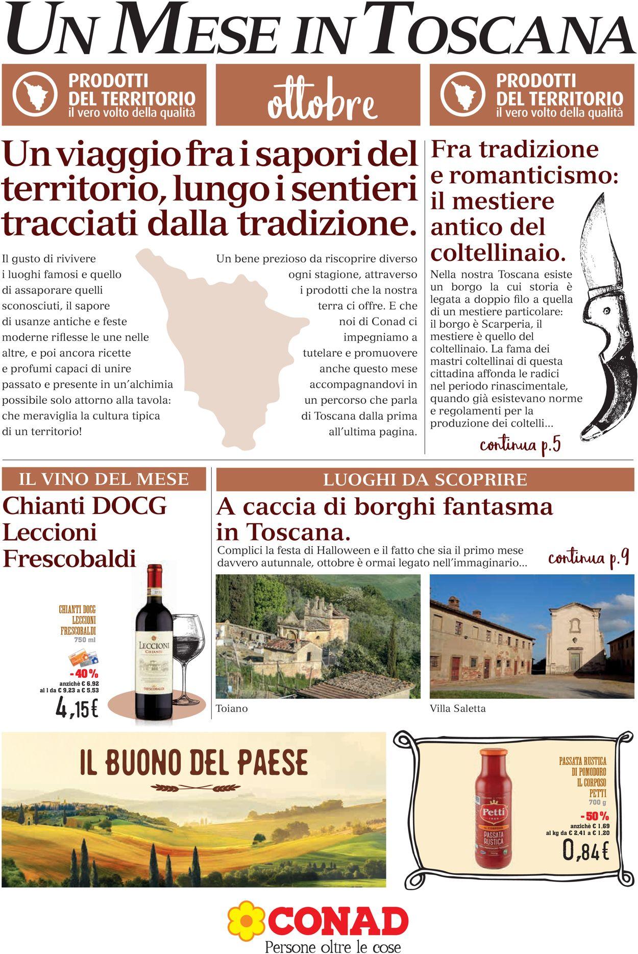 Volantino Conad - Offerte 01/10-31/10/2019