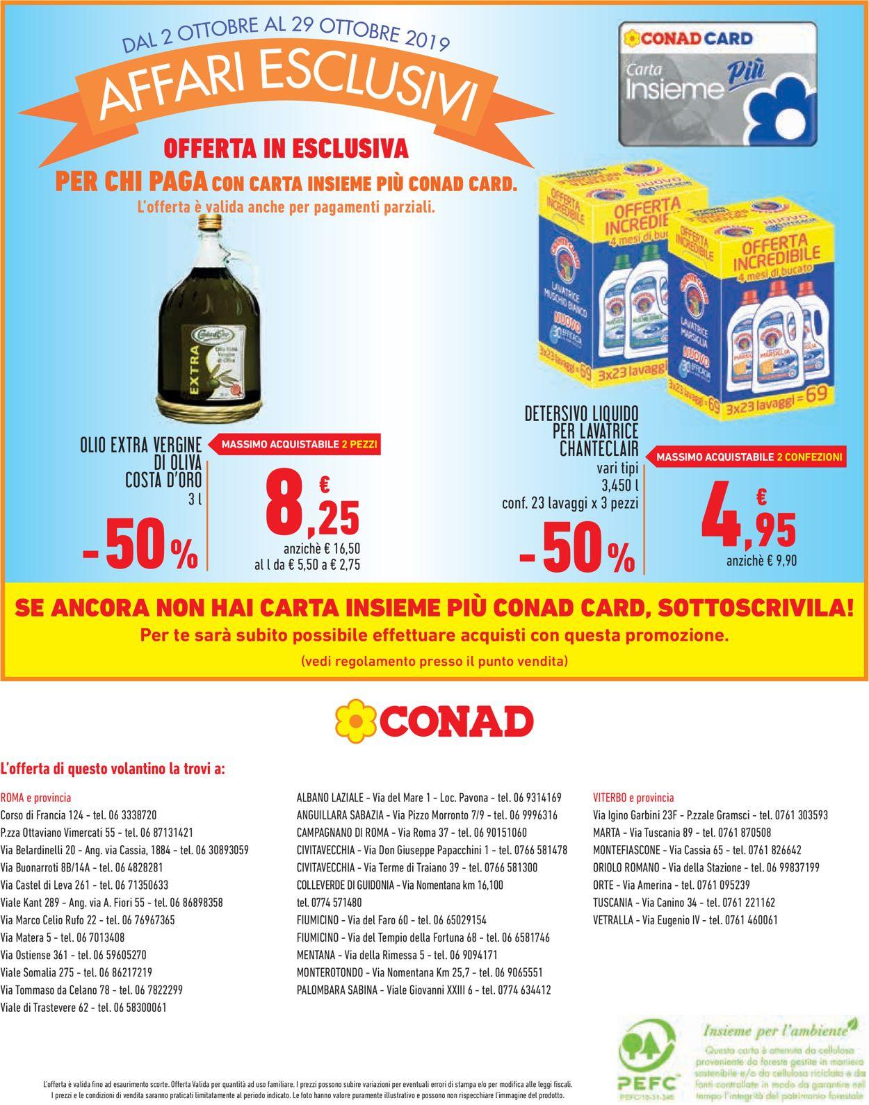 Volantino Conad - Offerte 02/10-29/10/2019 (Pagina 12)