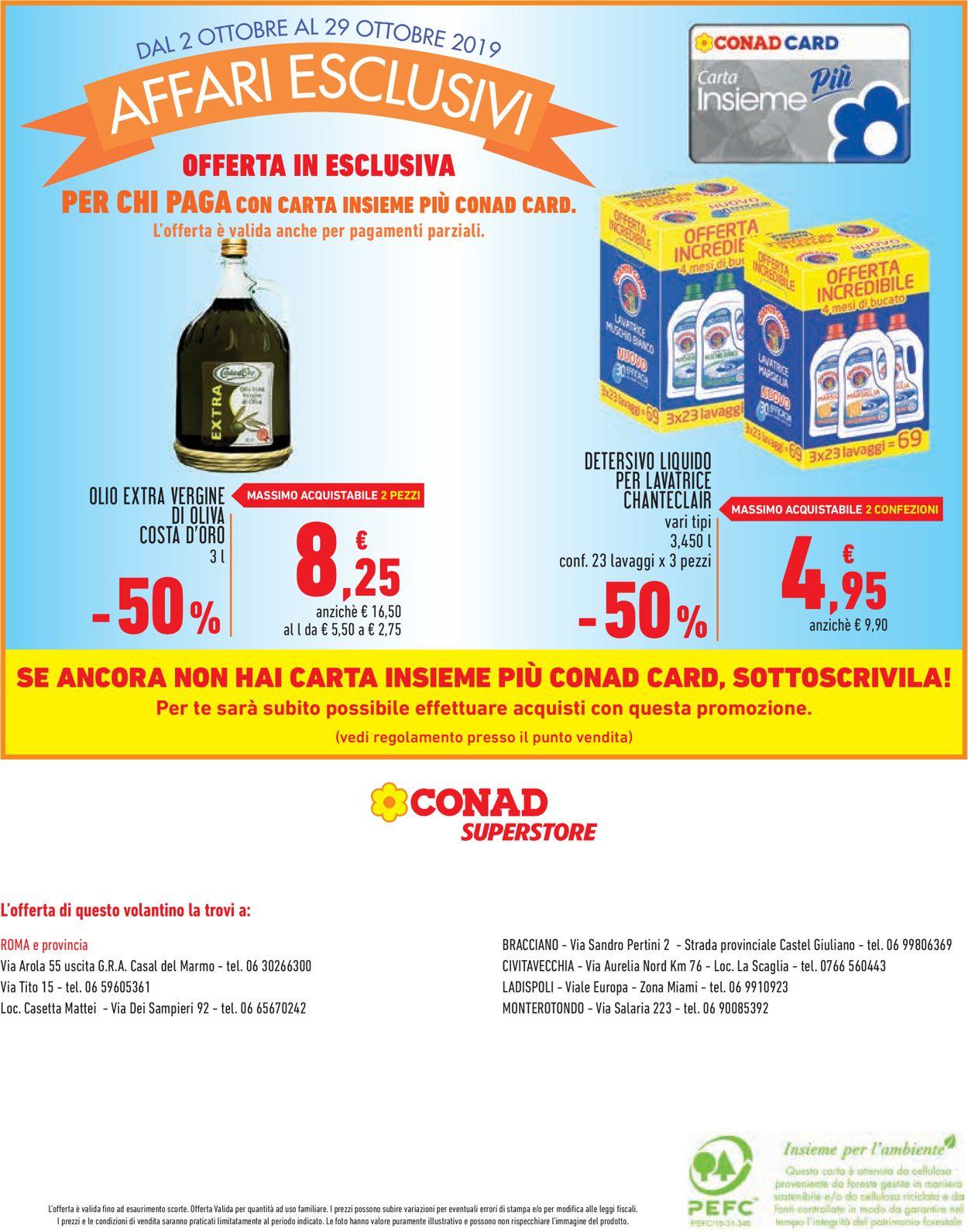 Volantino Conad - Offerte 02/10-29/10/2019 (Pagina 16)