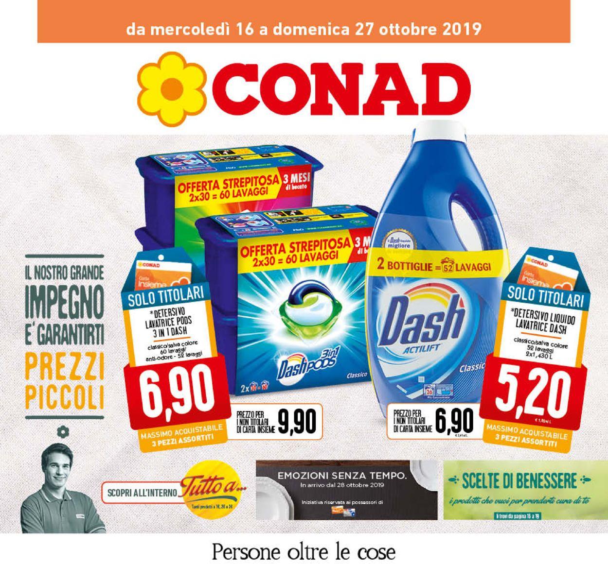 Volantino Conad - Offerte 16/10-27/10/2019
