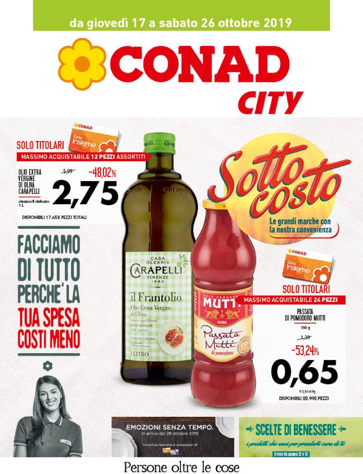 Volantino Conad - Offerte 17/10-26/10/2019