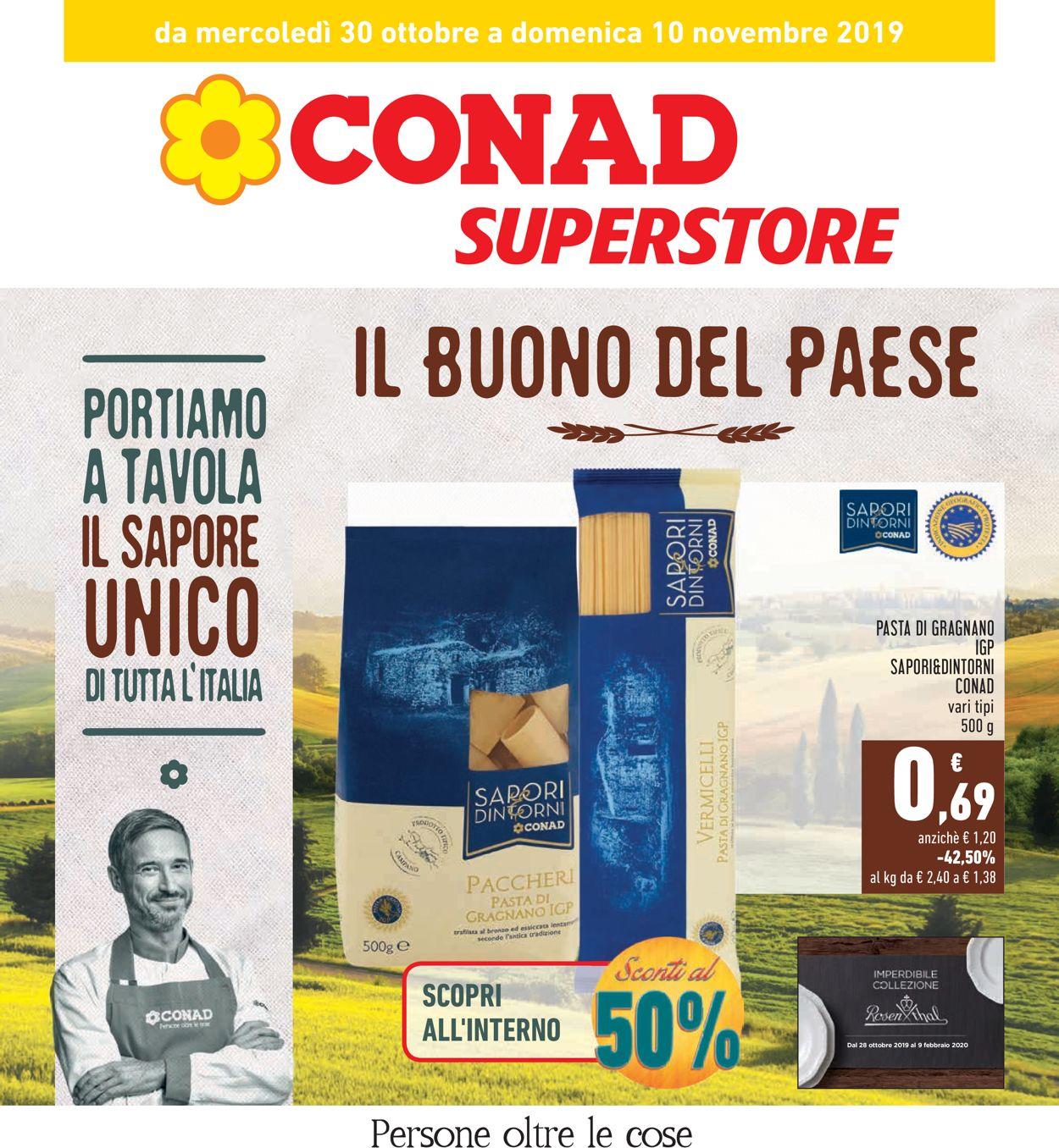 Volantino Conad - Offerte 30/10-10/11/2019