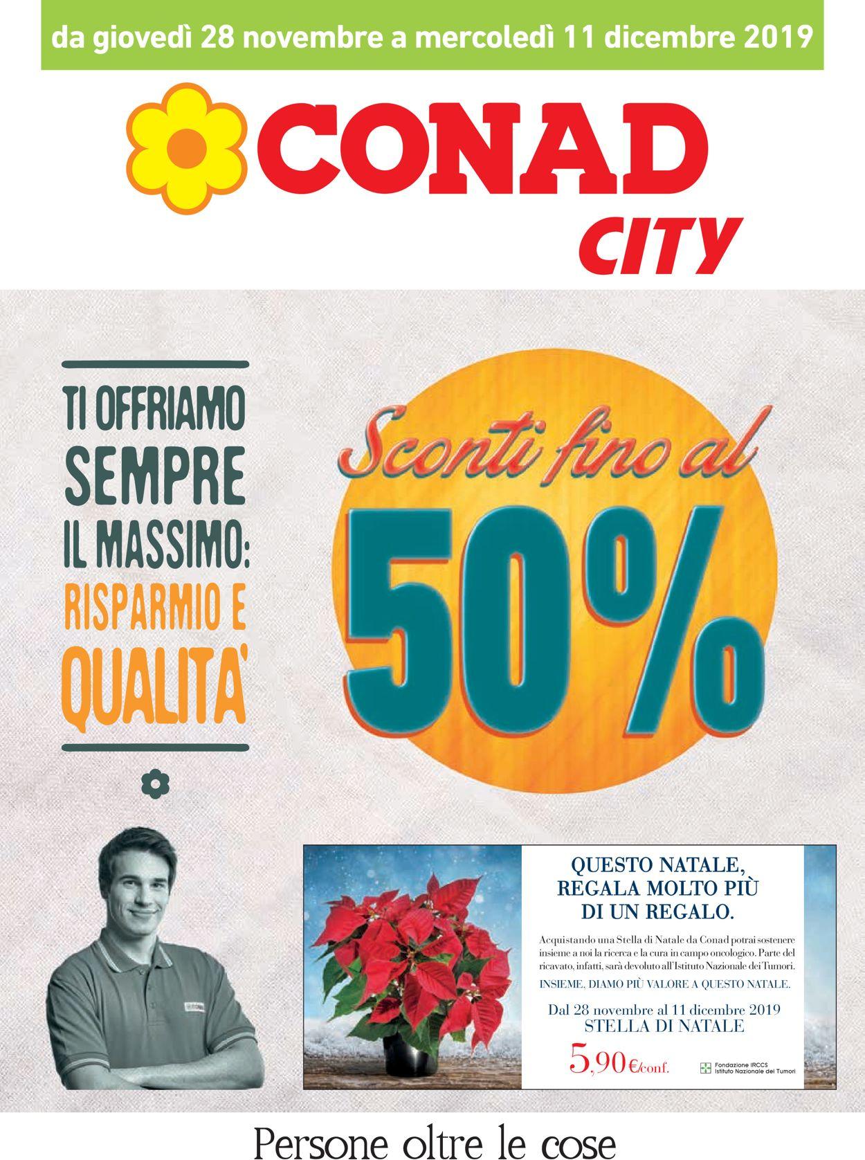 Volantino Conad - Offerte 28/11-11/12/2019