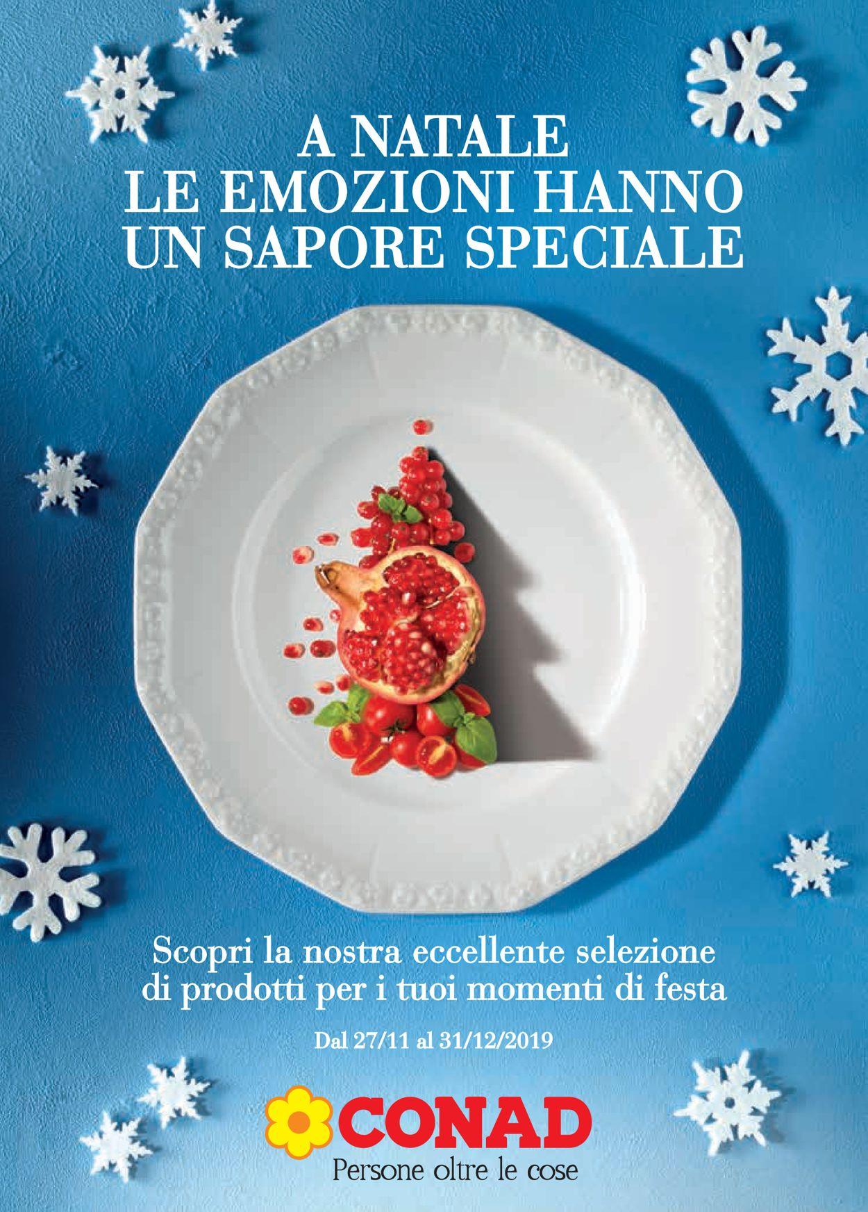 Volantino Il volantino natalizio di Conad - Offerte 27/11-31/12/2019