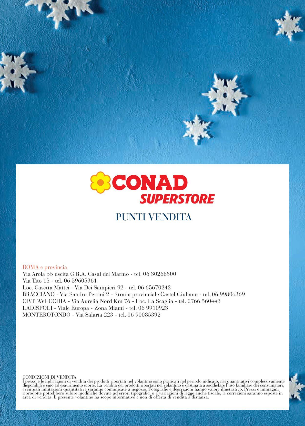 Volantino Il volantino natalizio di Conad - Offerte 27/11-31/12/2019 (Pagina 52)